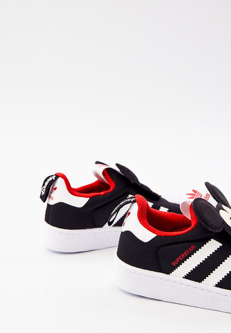 Кеды для мальчиков Adidas Originals (Адидас Ориджиналс) Q46299: изображение 4