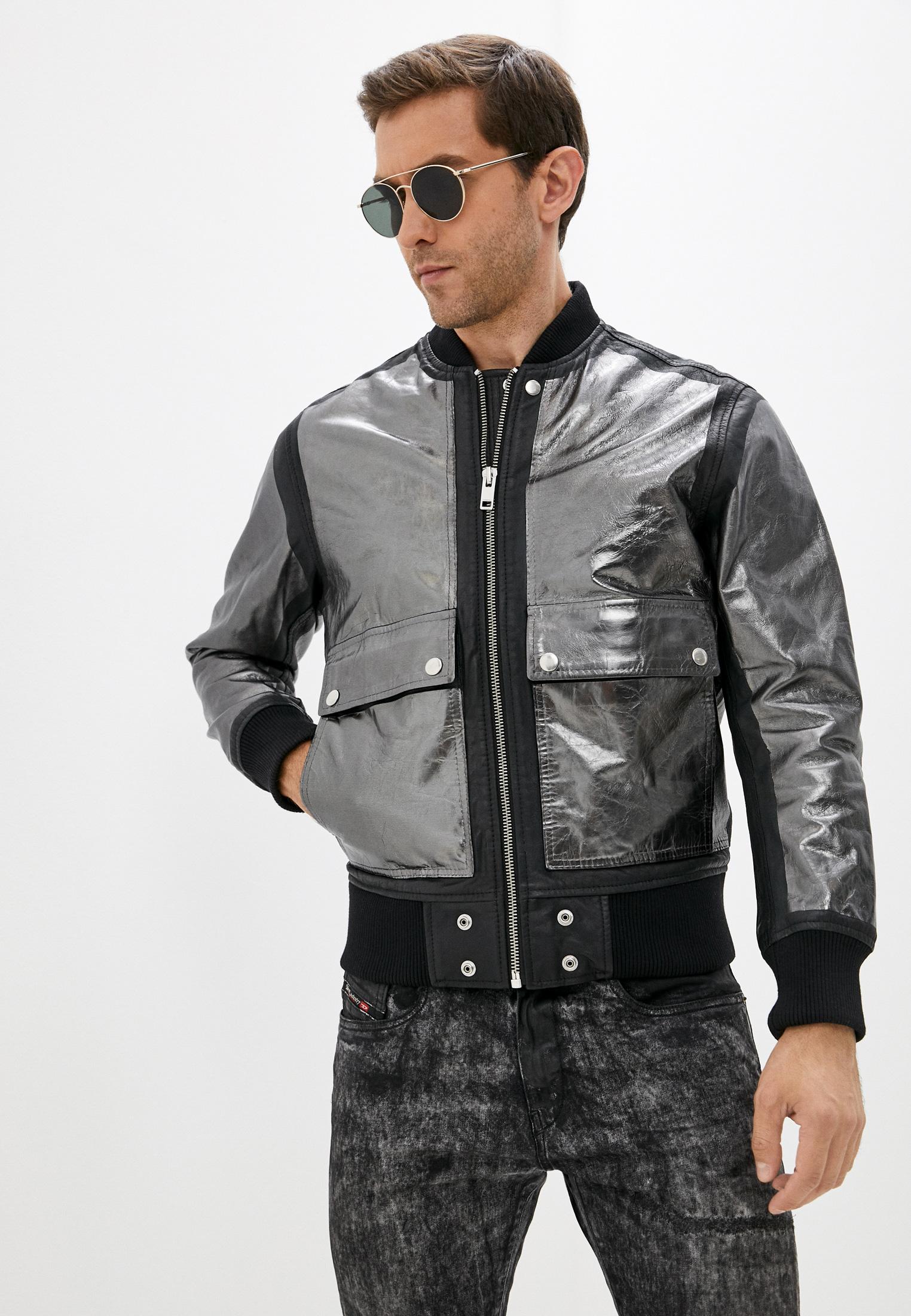 Кожаная куртка Diesel (Дизель) Куртка кожаная Diesel