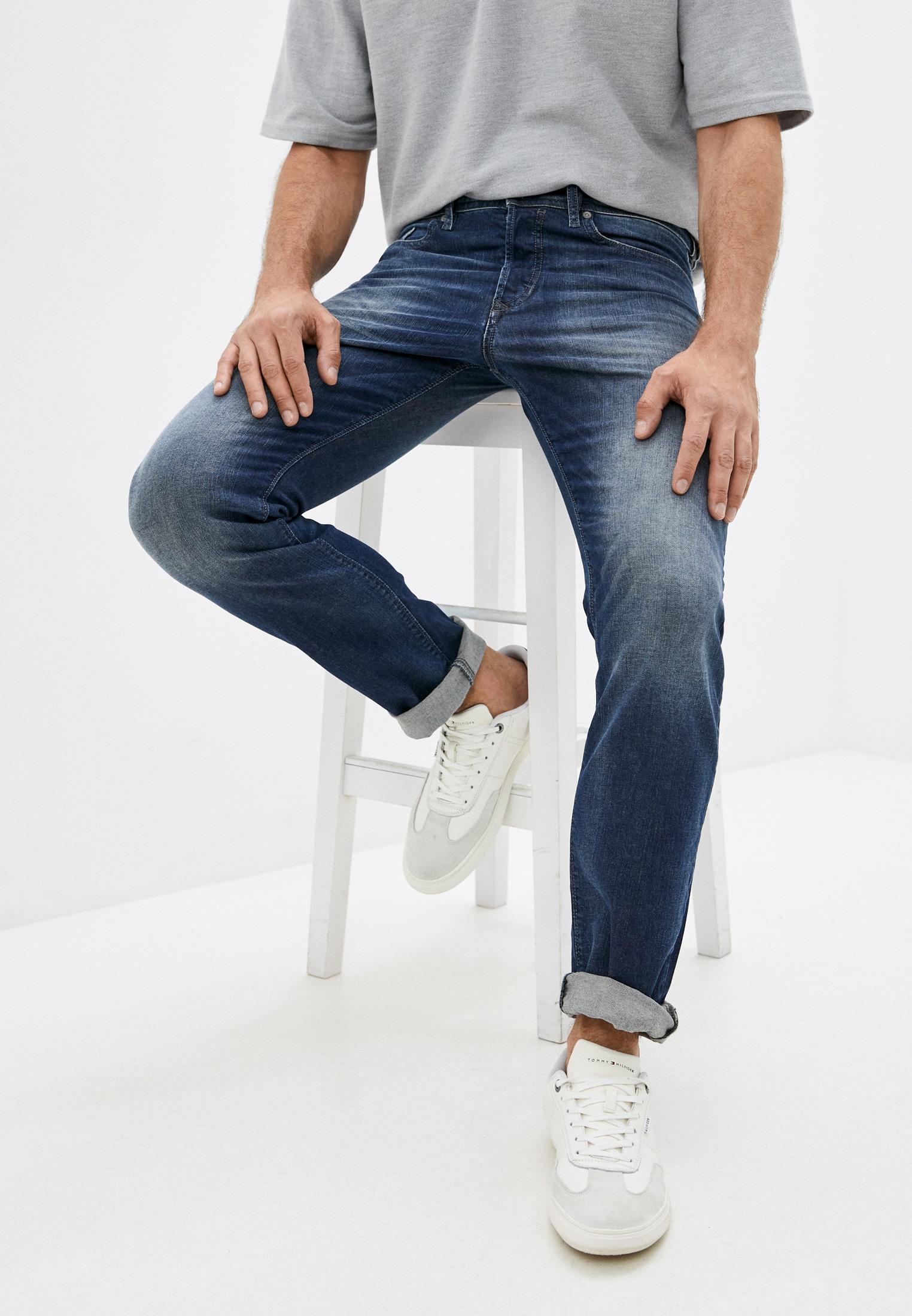 Мужские зауженные джинсы Diesel (Дизель) 00SDHB0853R