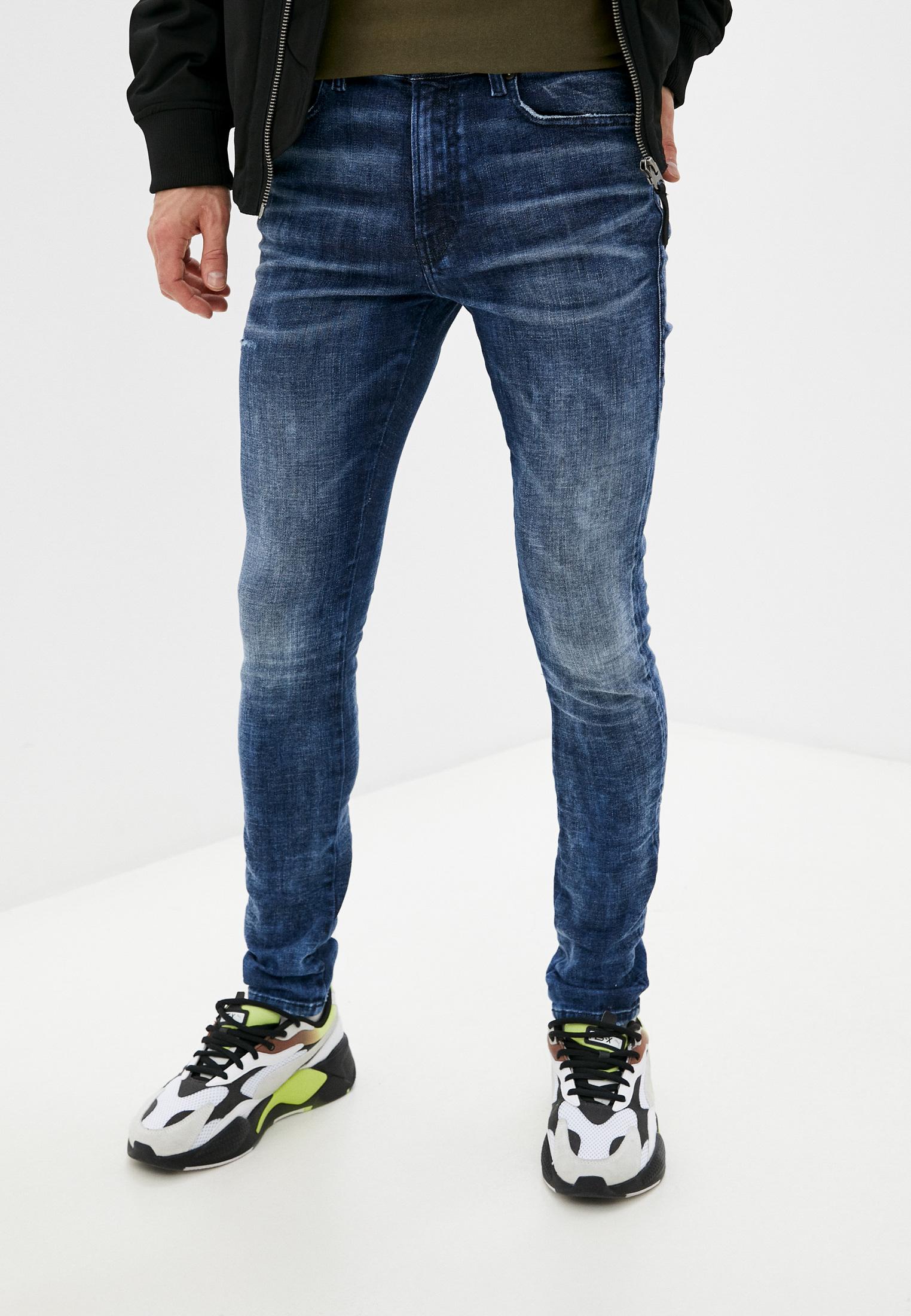 Мужские зауженные джинсы Diesel (Дизель) 00SDU80096Q