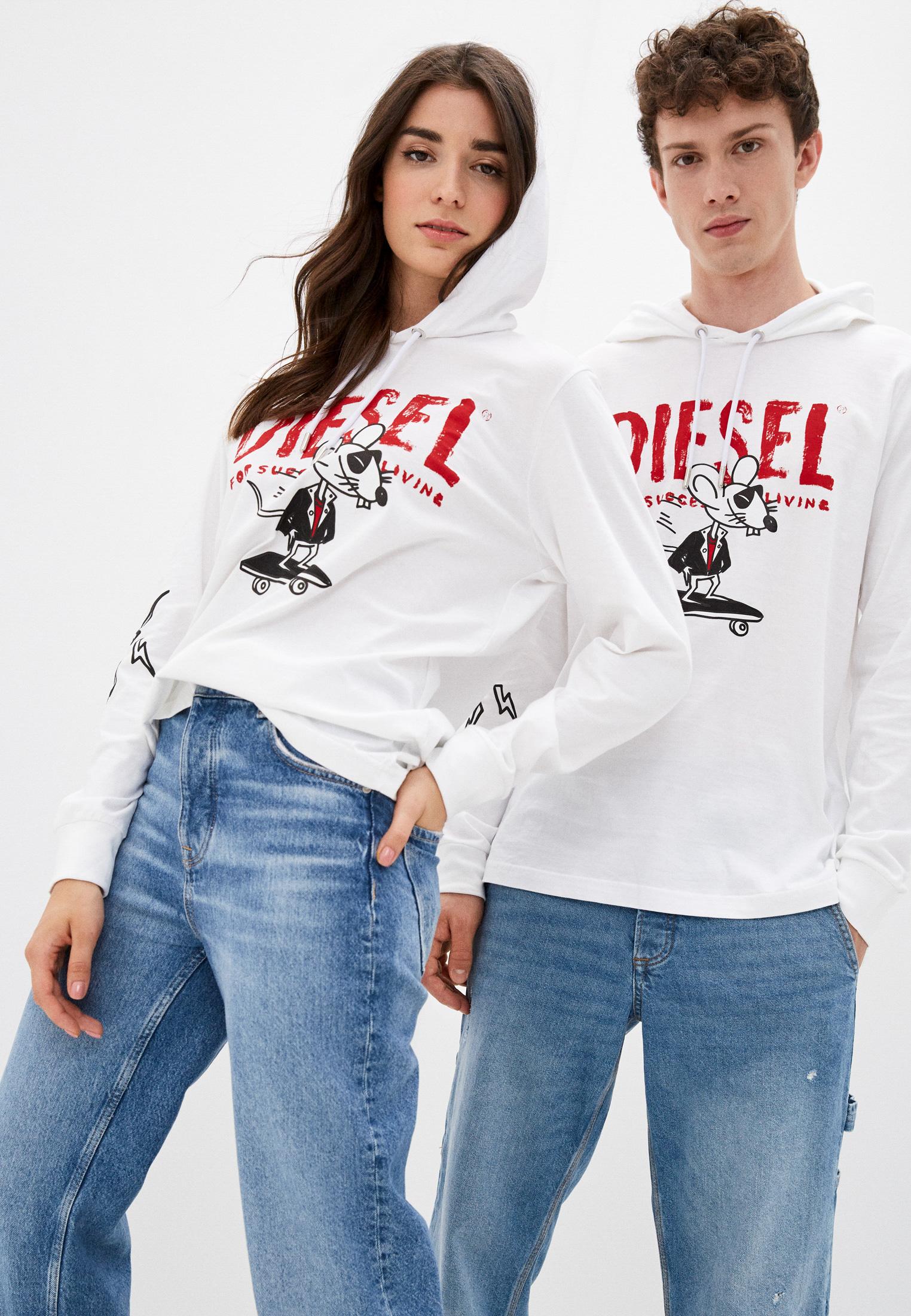 Женские худи Diesel (Дизель) 00SMFT0PATI
