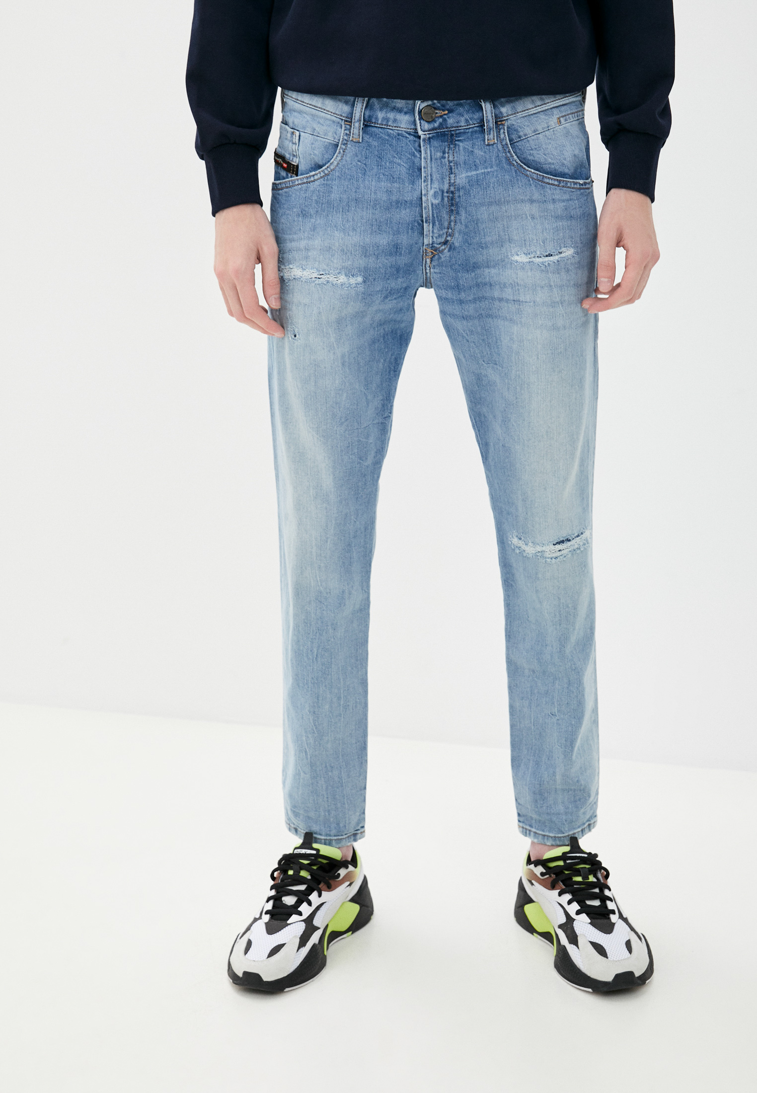 Мужские зауженные джинсы Diesel (Дизель) 00SSLK0095V
