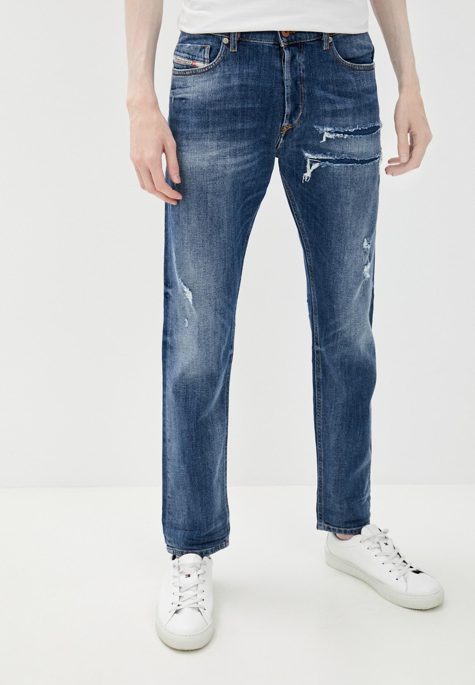 Мужские зауженные джинсы Diesel (Дизель) 00SWID0890X