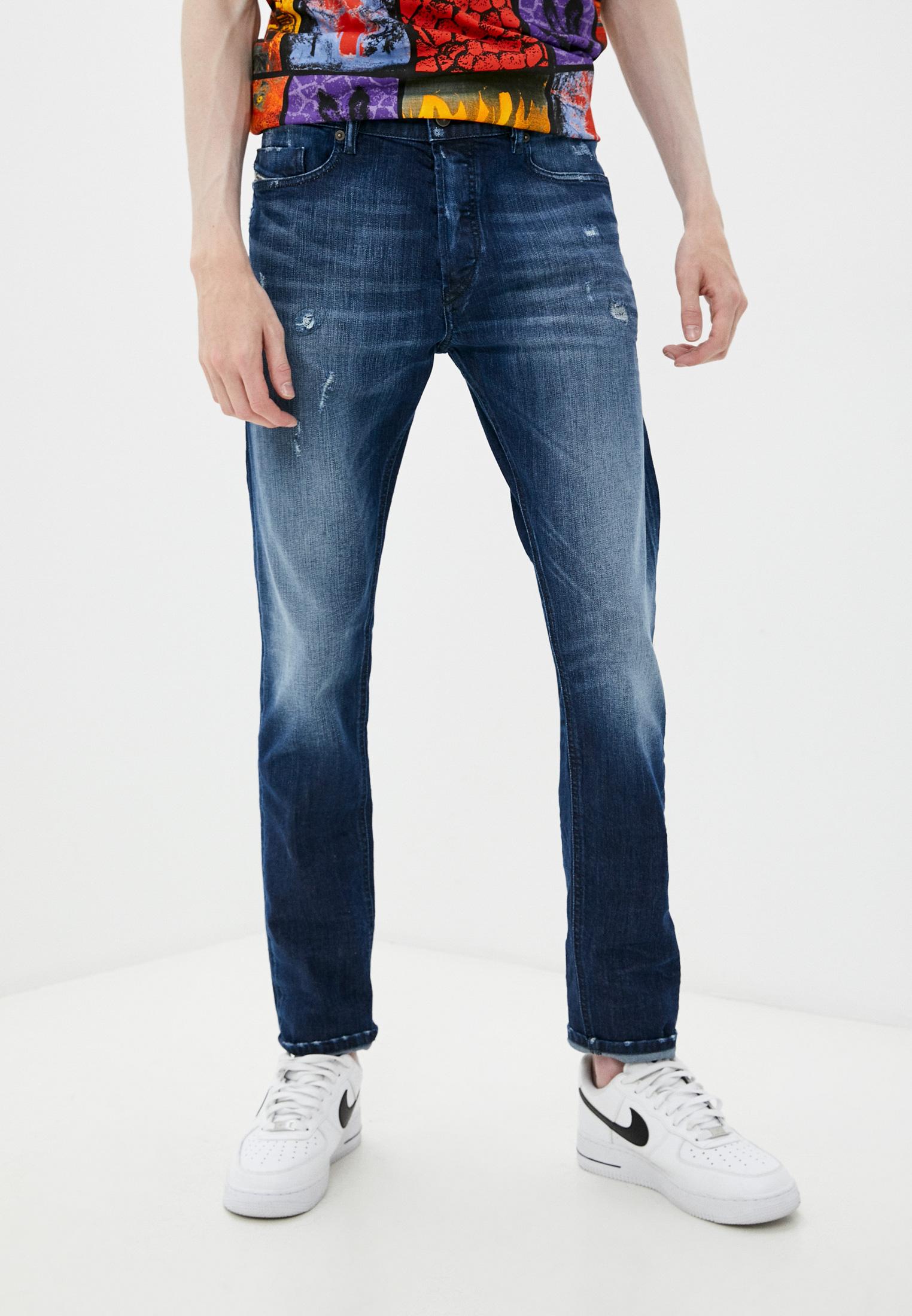 Мужские зауженные джинсы Diesel (Дизель) 00SWIE0095R