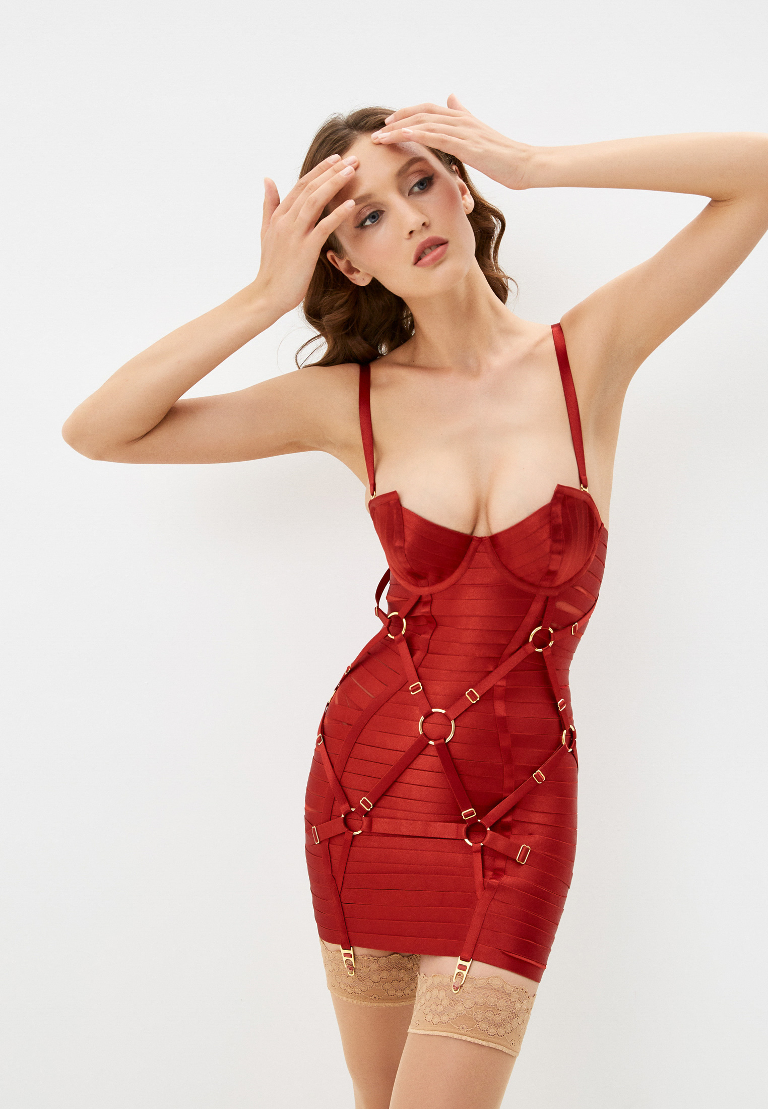 Женское белье и одежда для дома Bordelle SIGGD05BR: изображение 1