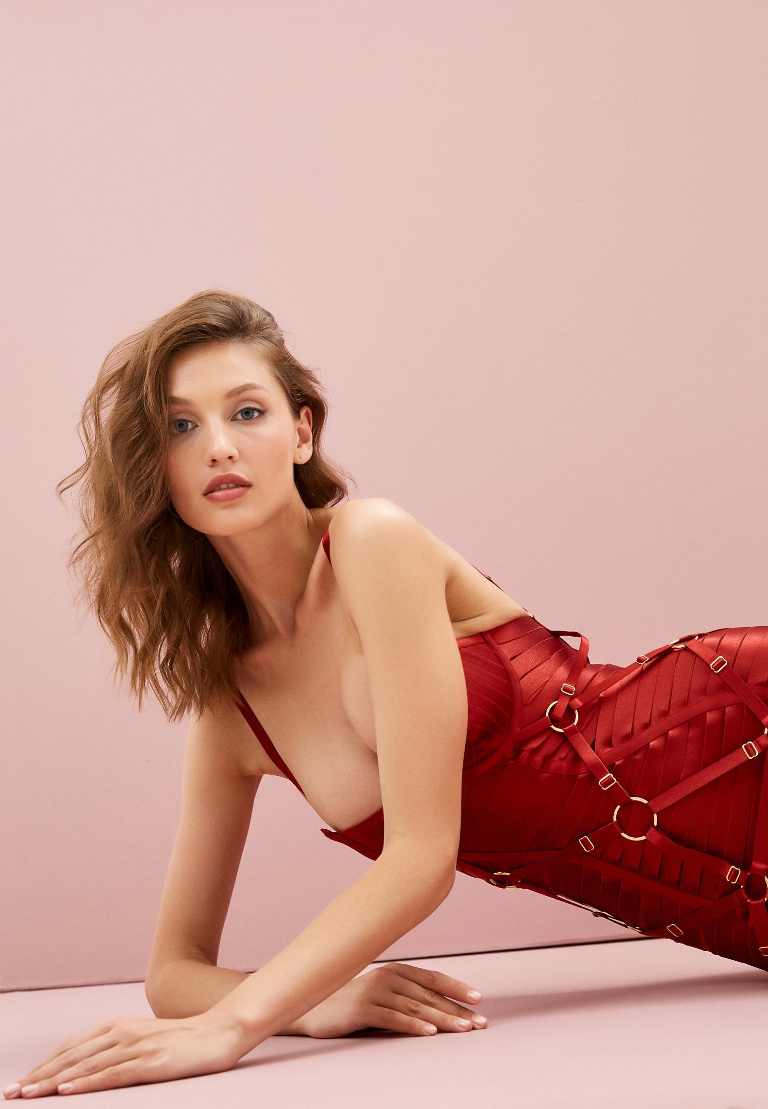 Женское белье и одежда для дома Bordelle SIGGD05BR: изображение 2