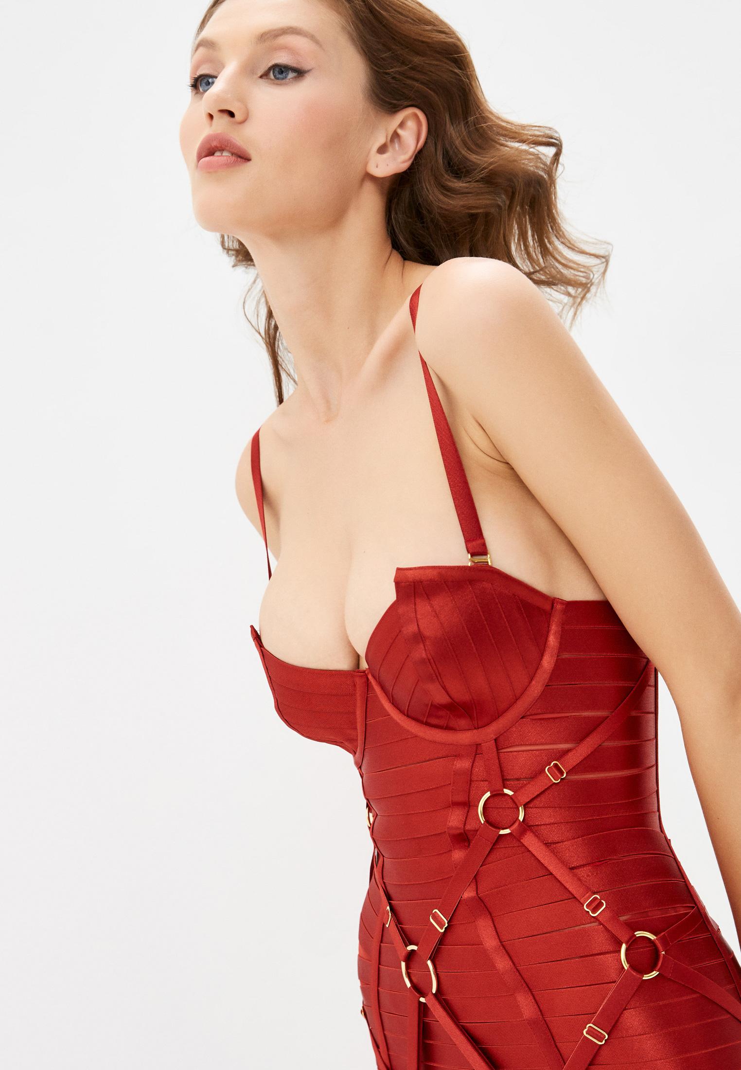 Женское белье и одежда для дома Bordelle SIGGD05BR: изображение 3