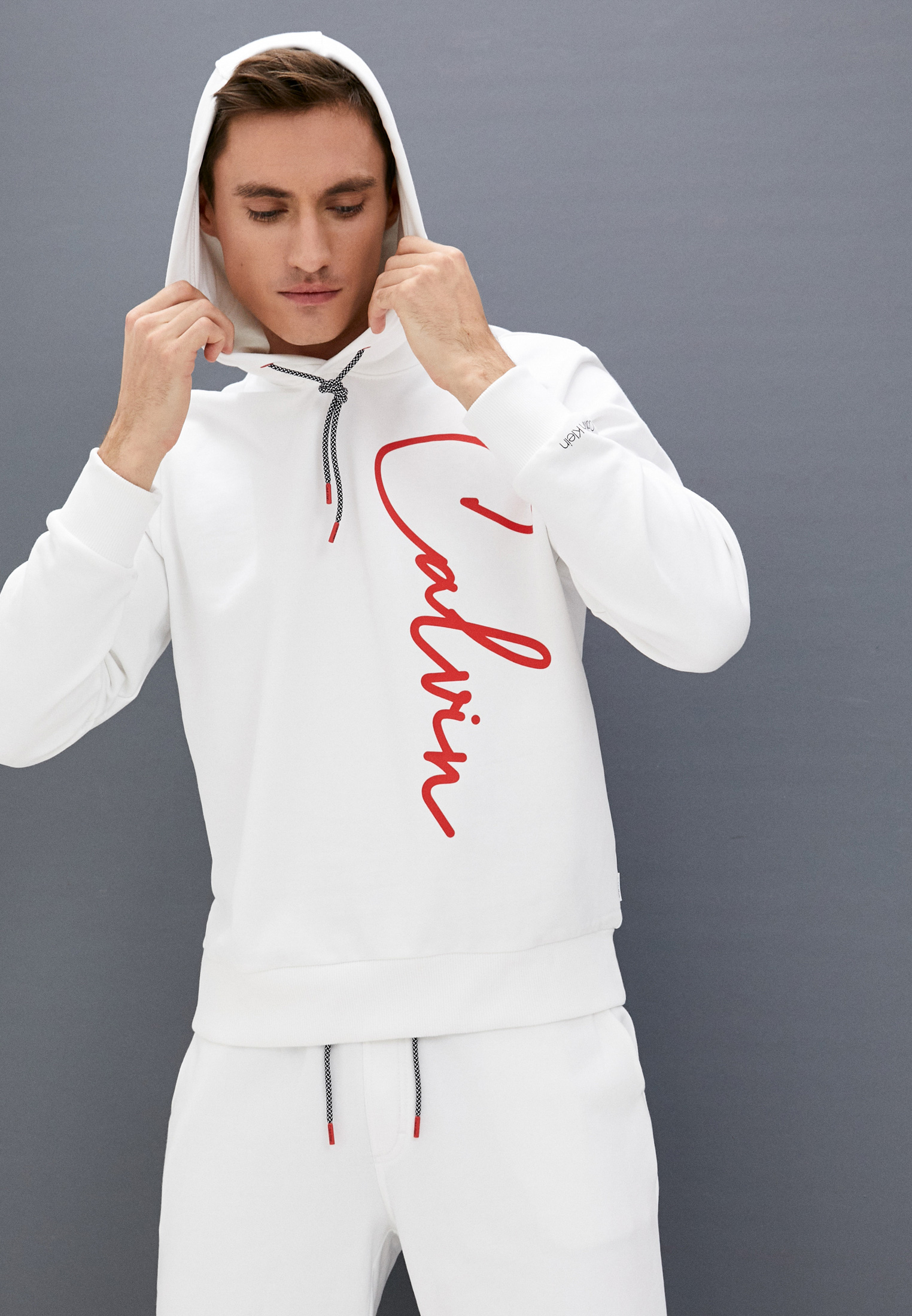 Мужские худи Calvin Klein (Кельвин Кляйн) K10K107976: изображение 2