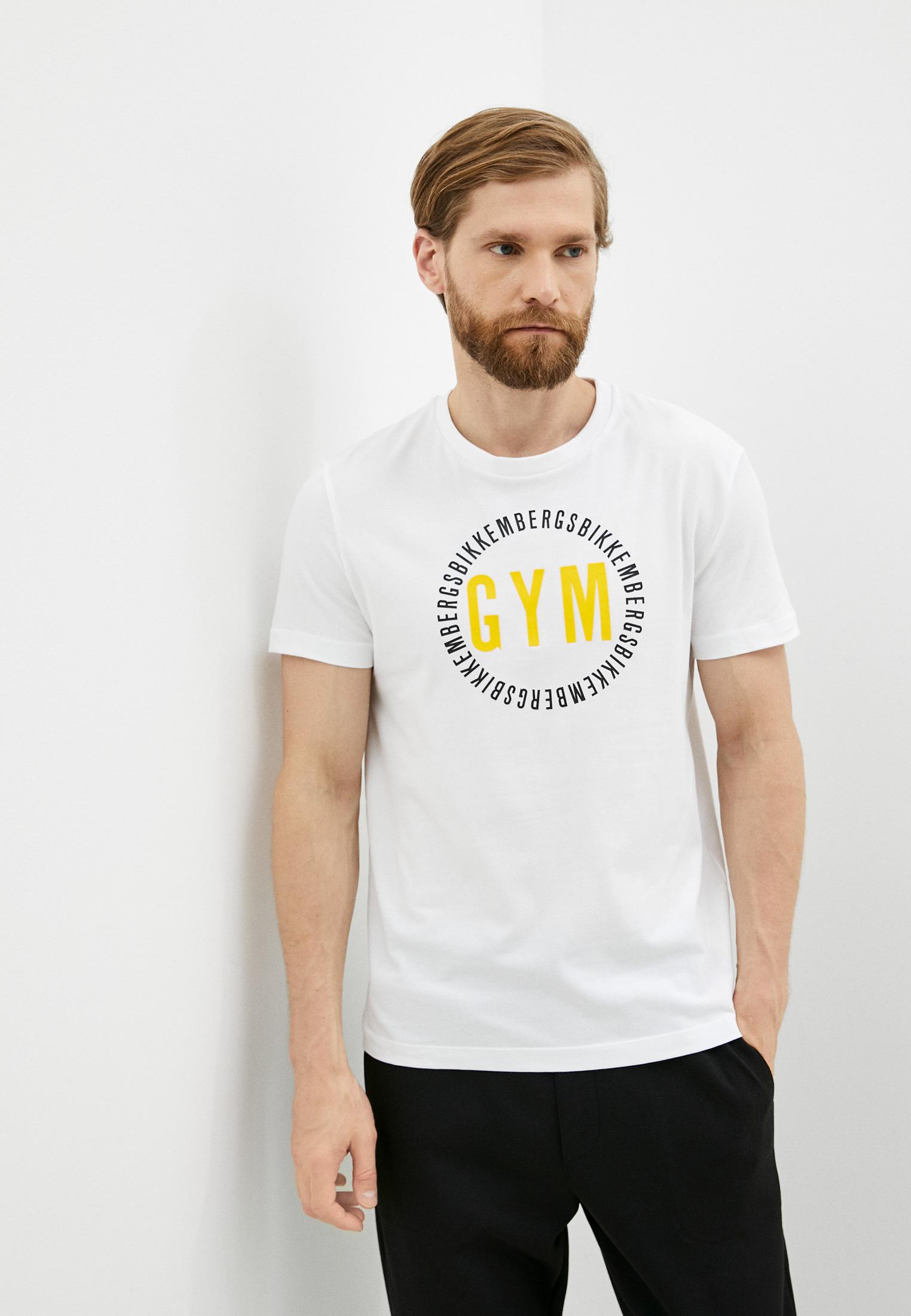 Мужская футболка Bikkembergs (Биккембергс) C 4 101 40 E 2273