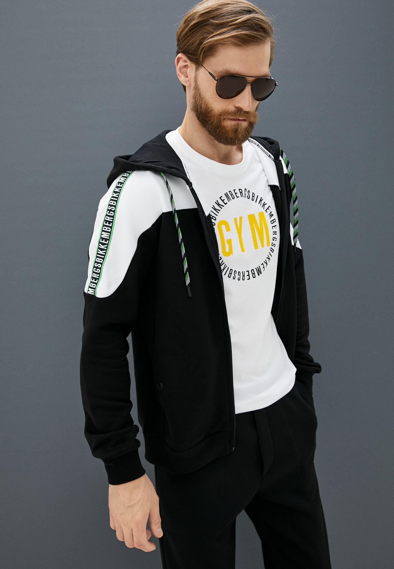 Мужская футболка Bikkembergs (Биккембергс) C 4 101 40 E 2273: изображение 2