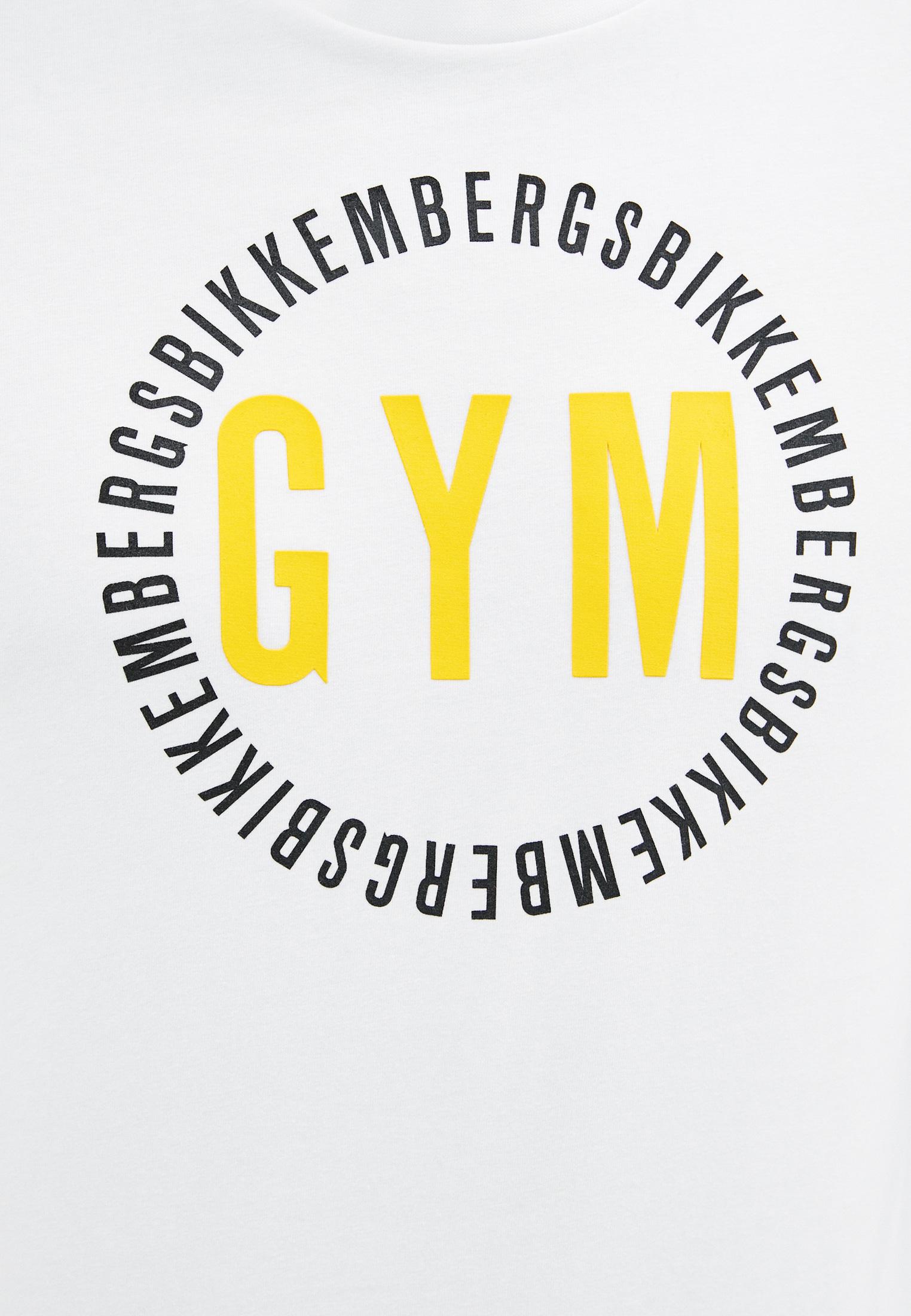 Мужская футболка Bikkembergs (Биккембергс) C 4 101 40 E 2273: изображение 5