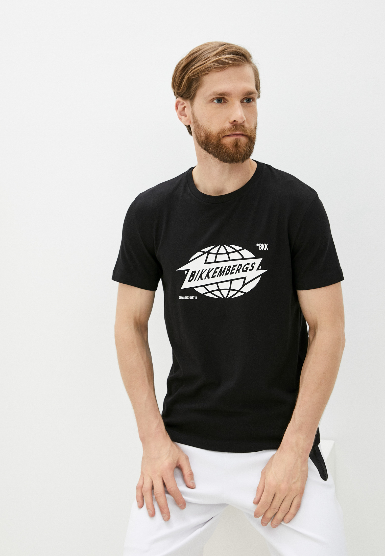 Мужская футболка Bikkembergs (Биккембергс) C 4 101 42 E 2273