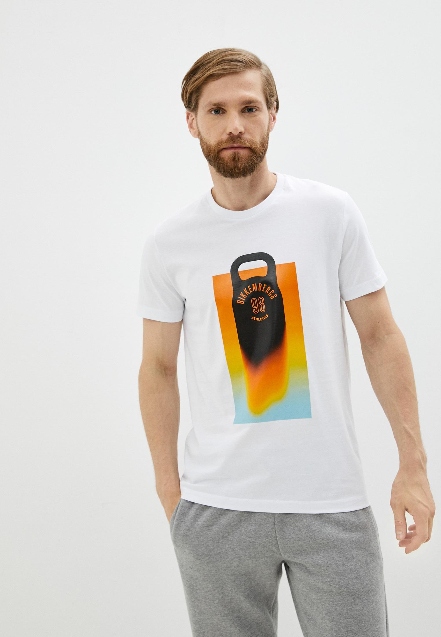 Мужская футболка Bikkembergs (Биккембергс) C 4 101 46 M 4298