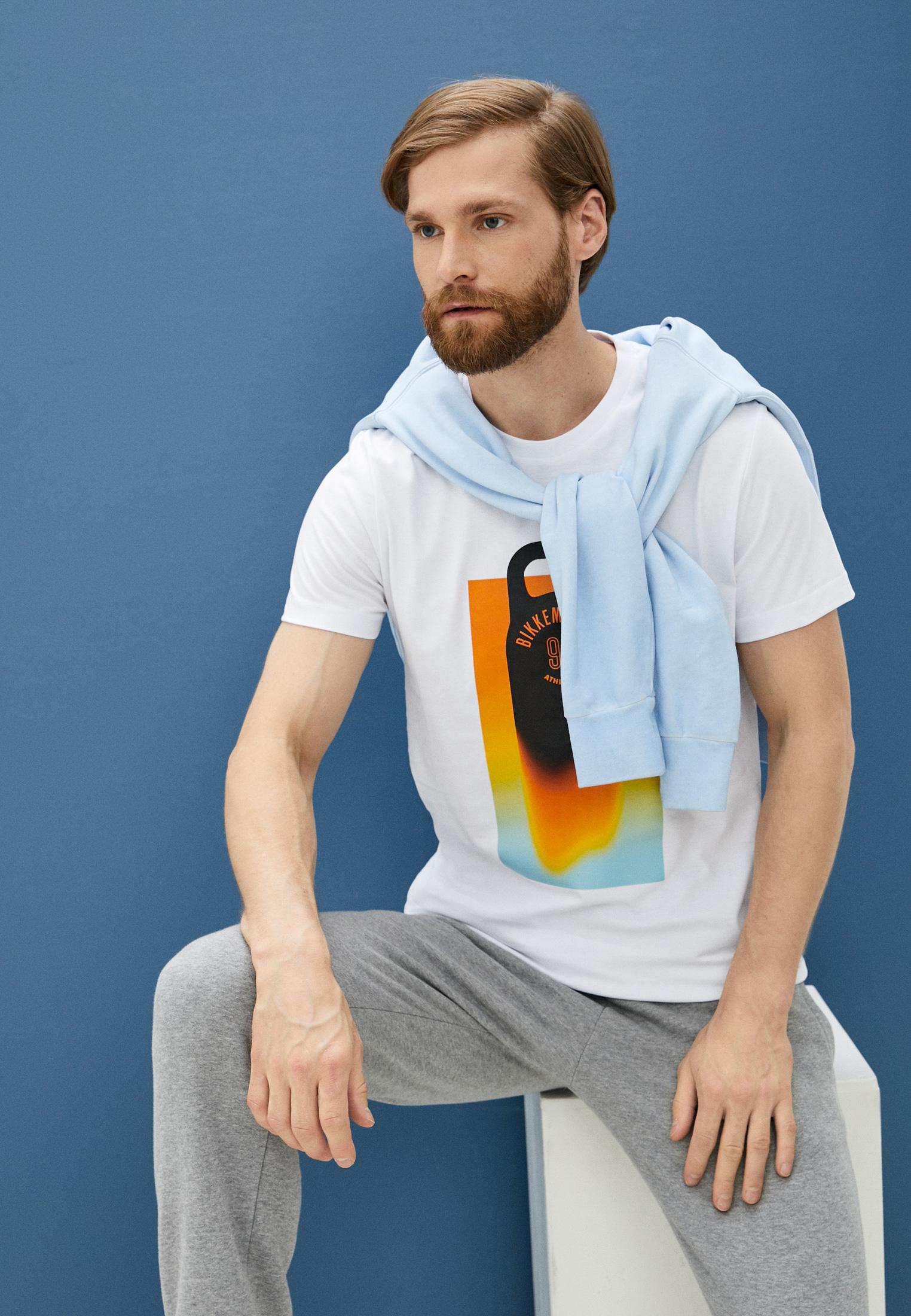 Мужская футболка Bikkembergs (Биккембергс) C 4 101 46 M 4298: изображение 2