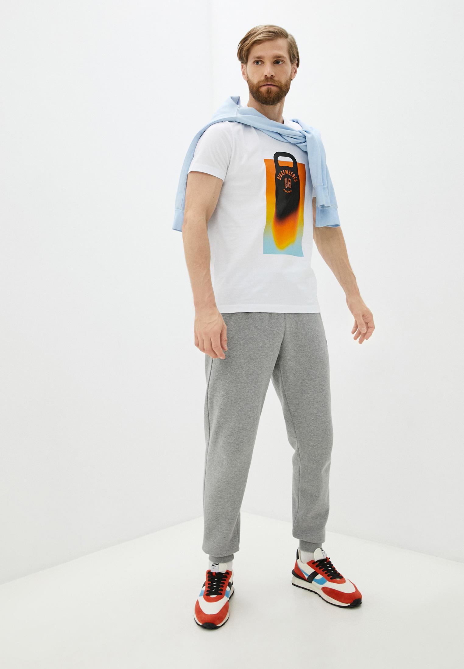 Мужская футболка Bikkembergs (Биккембергс) C 4 101 46 M 4298: изображение 3