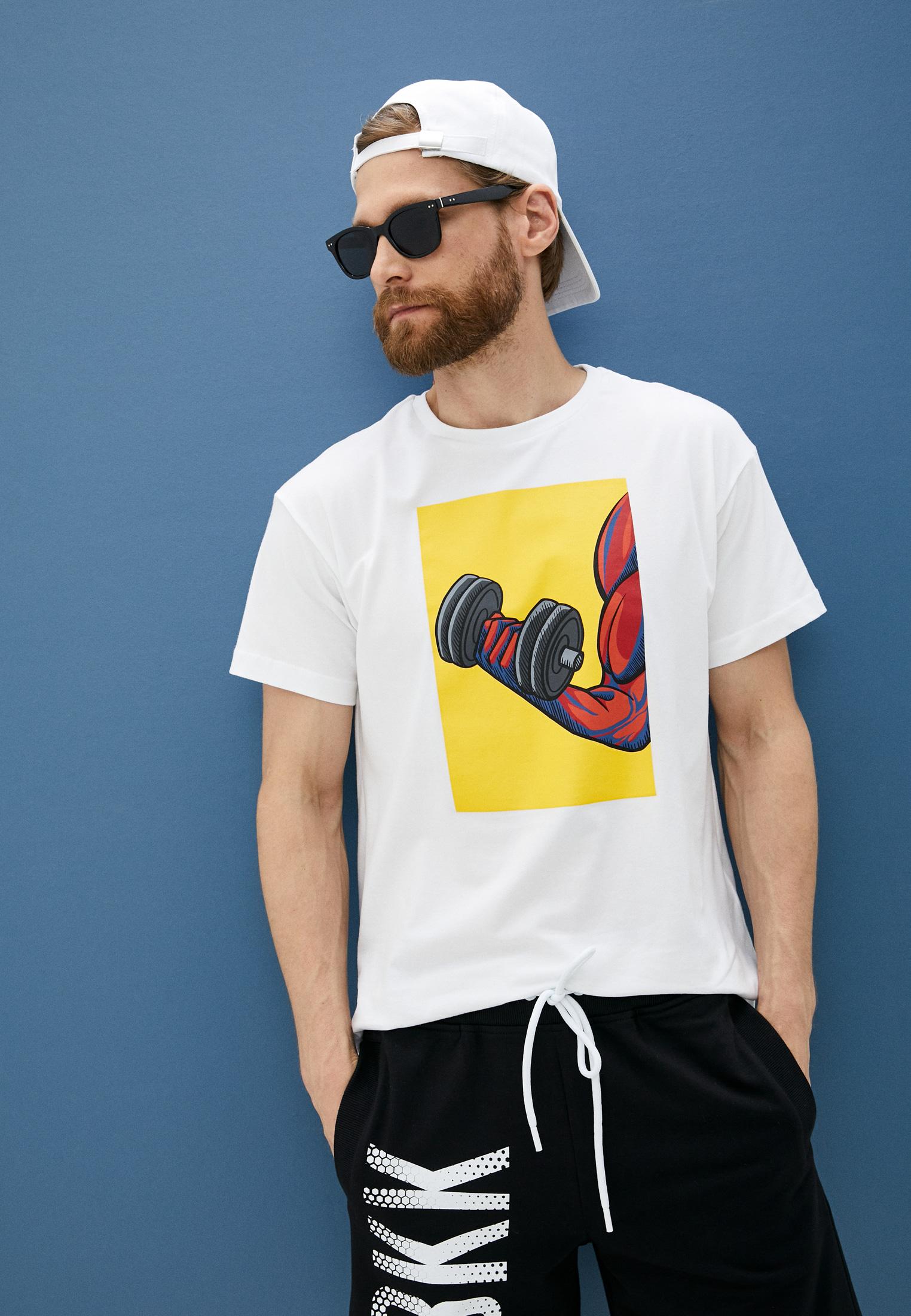 Мужская футболка Bikkembergs (Биккембергс) C 4 114 02 E 2273: изображение 2