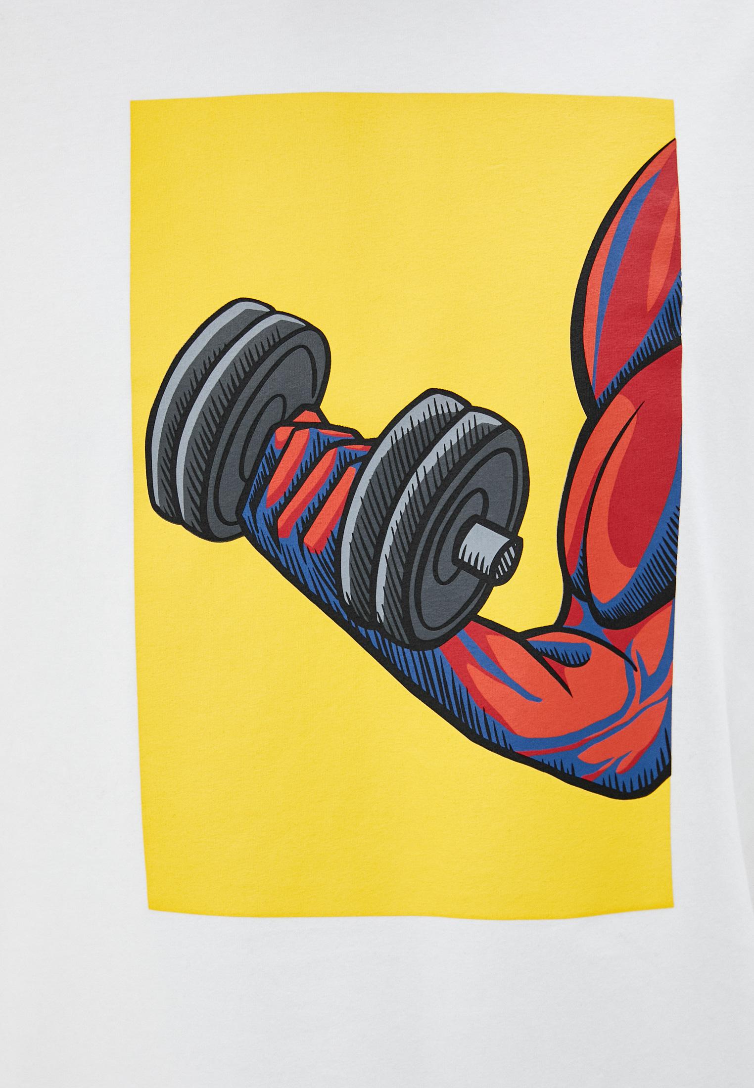Мужская футболка Bikkembergs (Биккембергс) C 4 114 02 E 2273: изображение 5