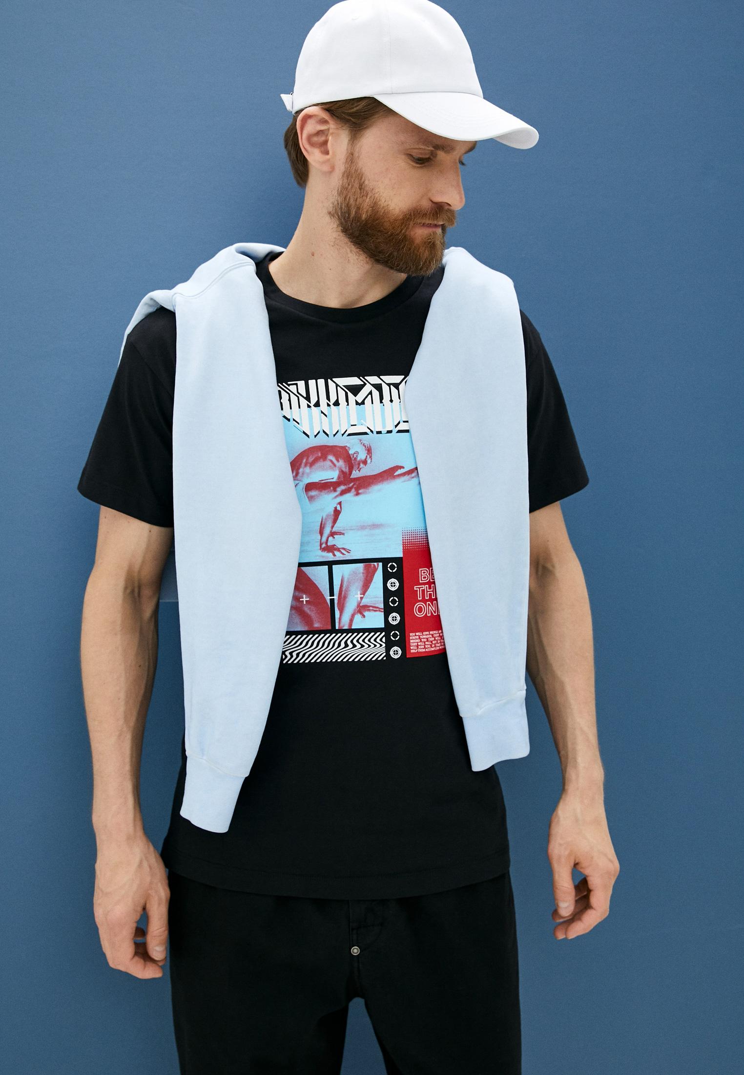 Мужская футболка Bikkembergs (Биккембергс) C 4 114 03 M 4298: изображение 2