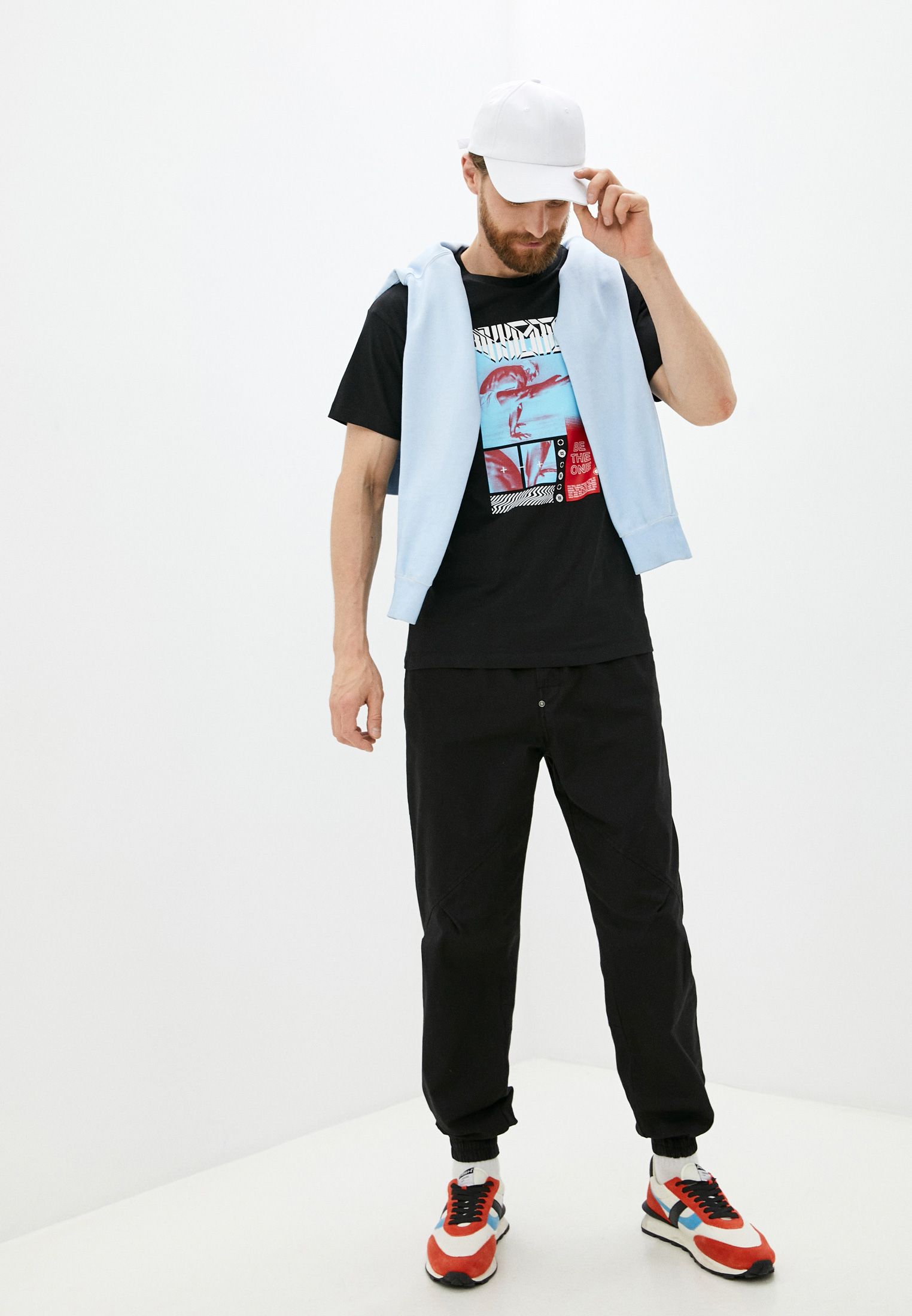Мужская футболка Bikkembergs (Биккембергс) C 4 114 03 M 4298: изображение 3