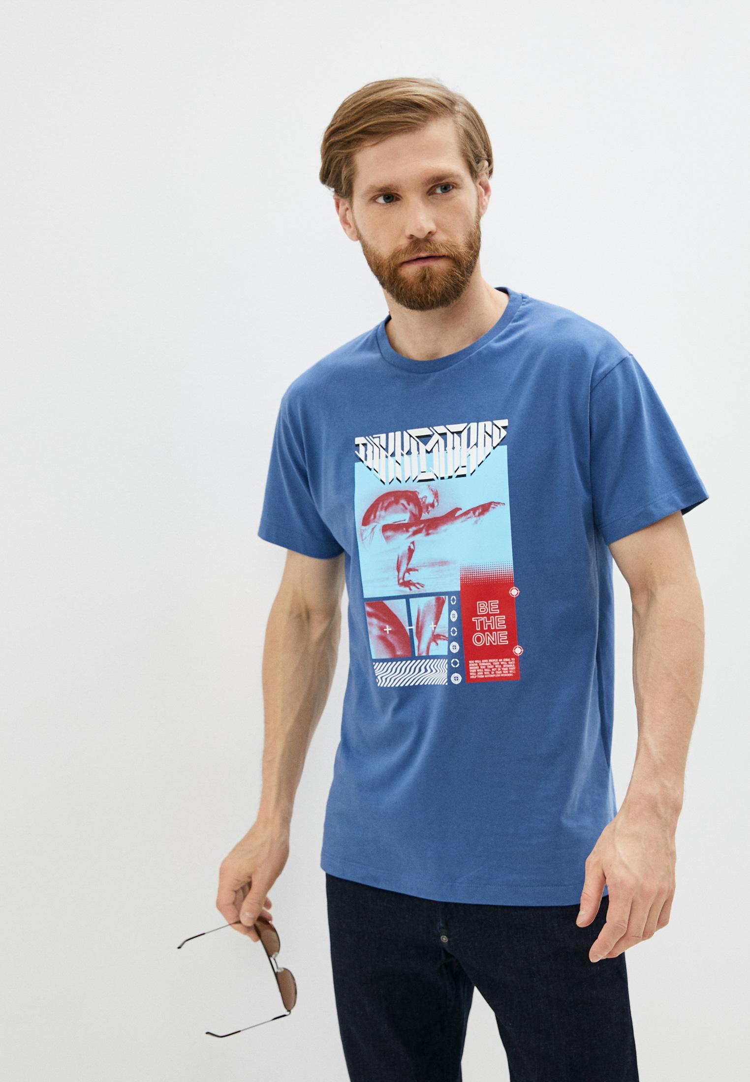 Мужская футболка Bikkembergs (Биккембергс) C 4 114 03 M 4298