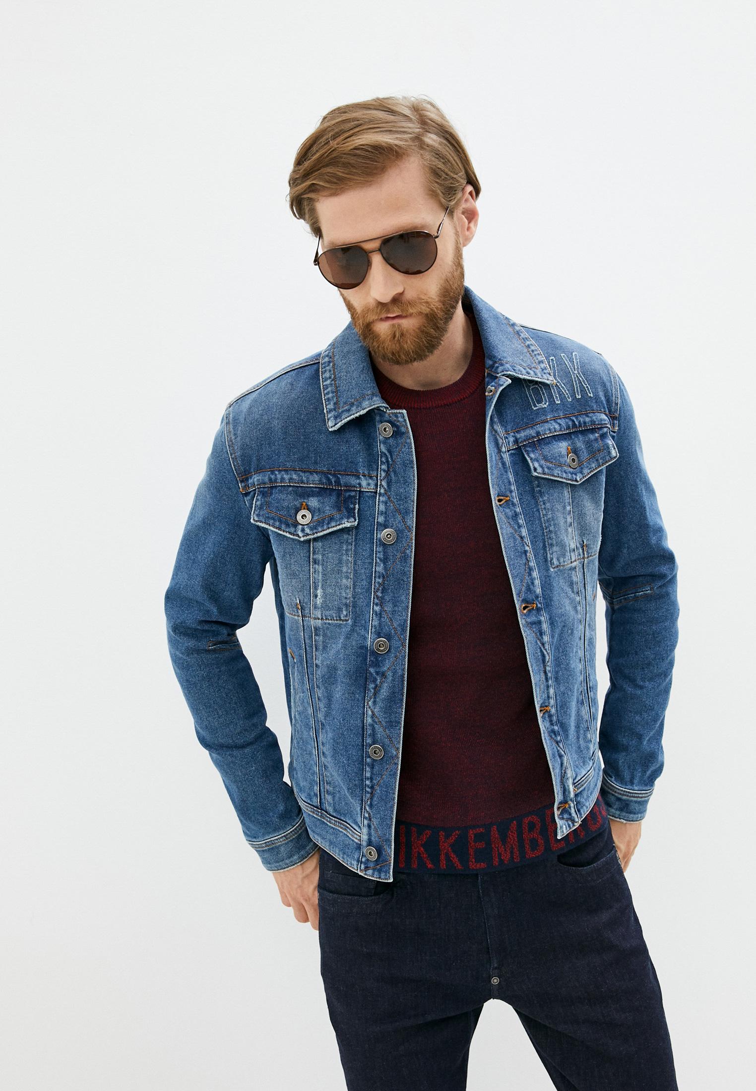 Джинсовая куртка Bikkembergs Куртка джинсовая Bikkembergs