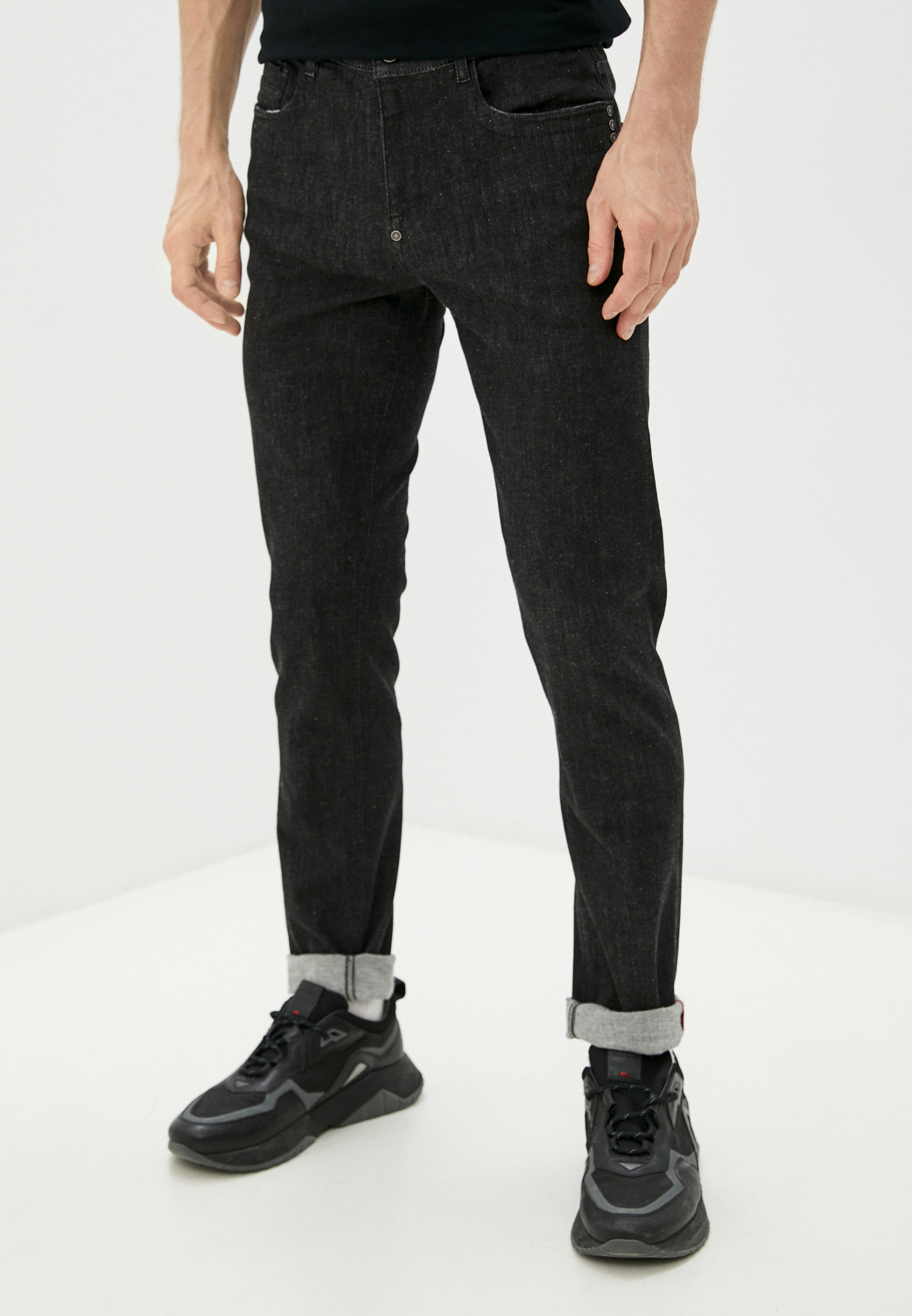 Мужские зауженные джинсы Bikkembergs (Биккембергс) C Q 111 02 S 3446