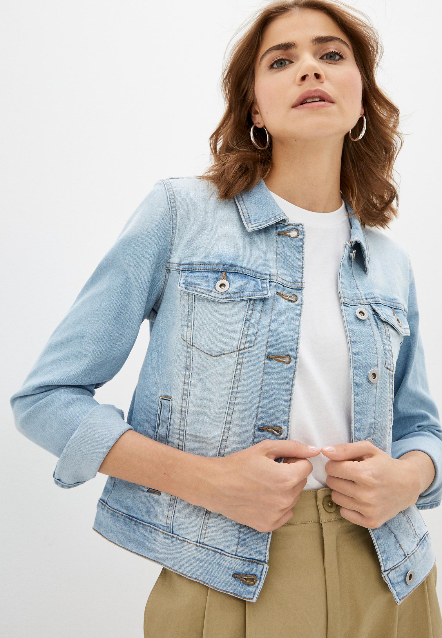 Джинсовая куртка Only (Онли) Куртка джинсовая Only