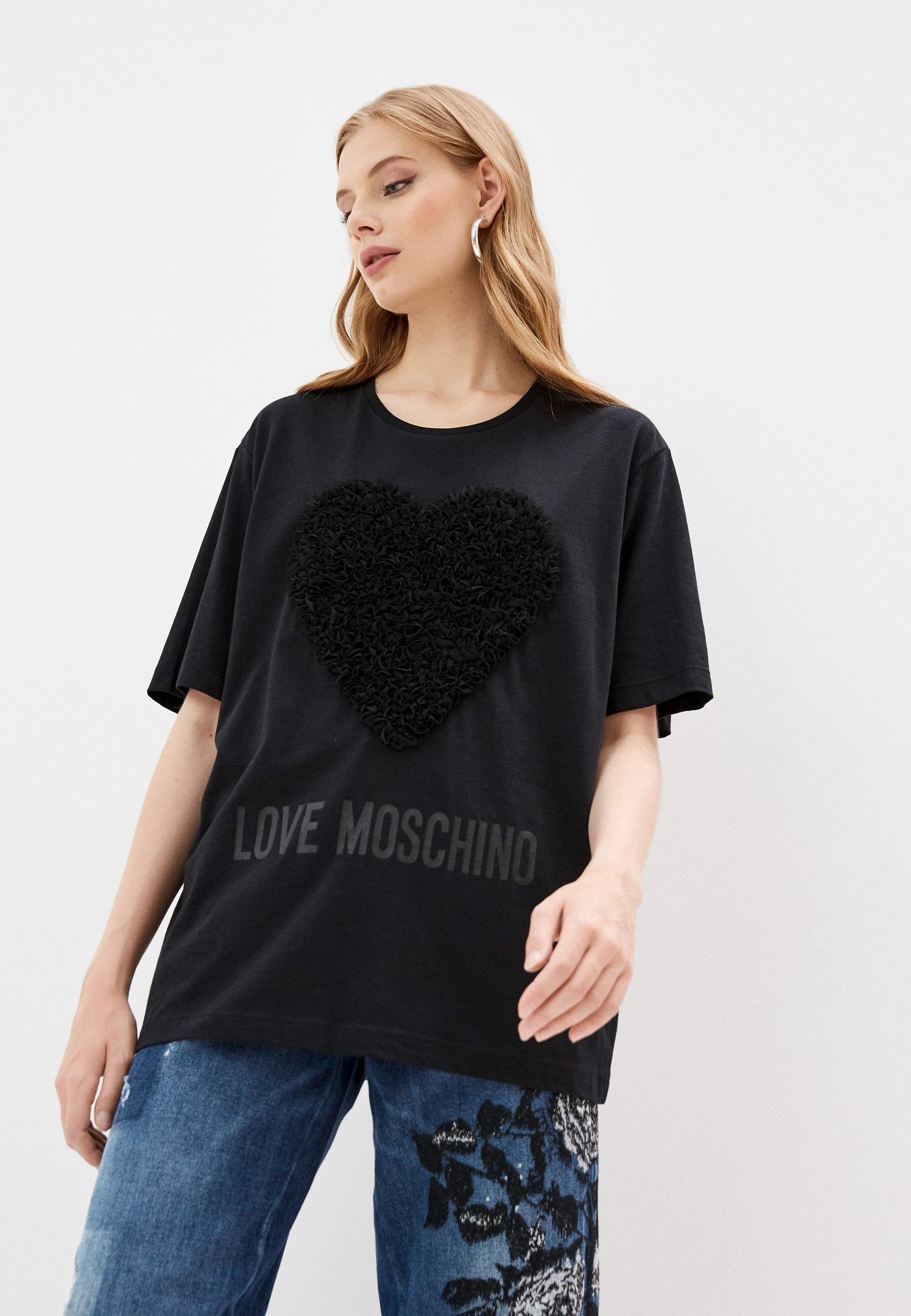 Футболка с коротким рукавом Love Moschino W 4 F87 42 M 3517