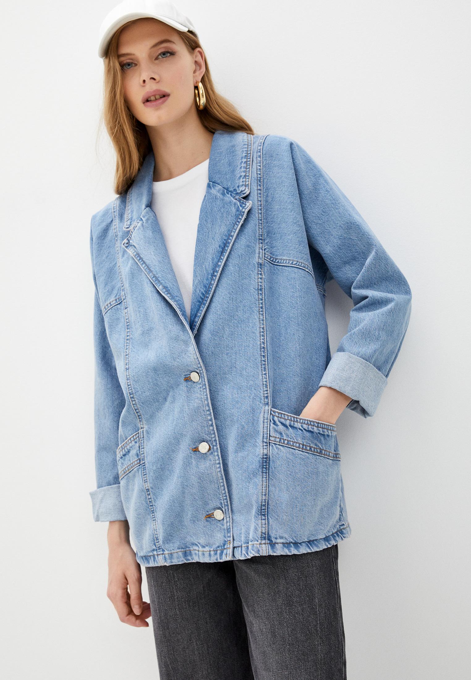 Джинсовая куртка Topshop (Топ Шоп) Куртка джинсовая Topshop
