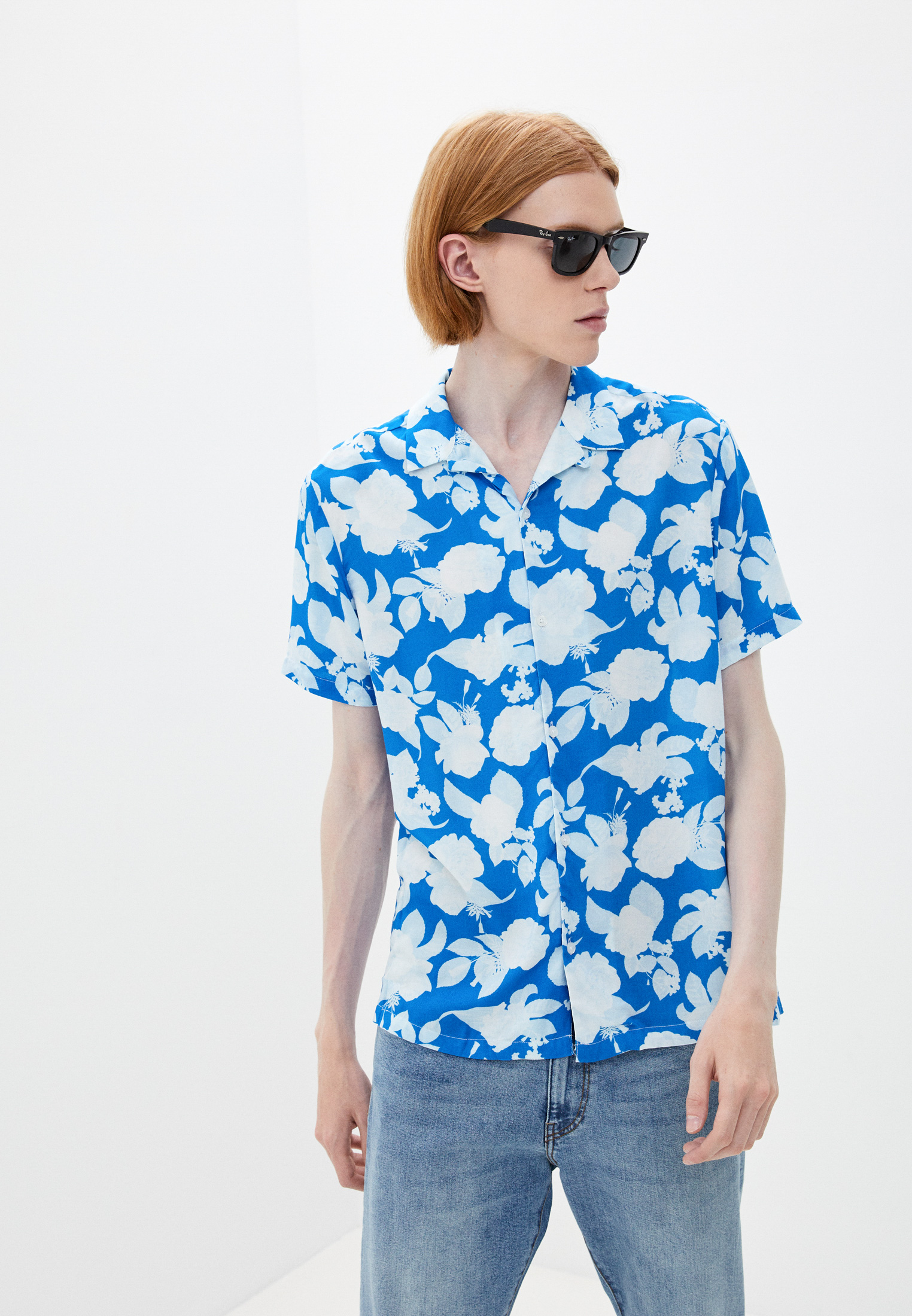 Рубашка с длинным рукавом Topman (Топмэн) Рубашка Topman