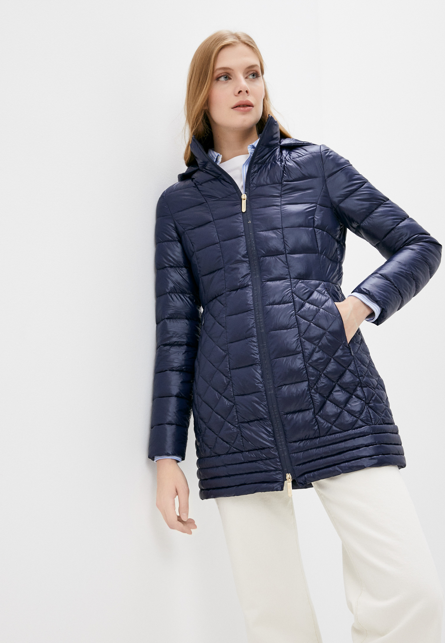 Утепленная куртка Trussardi (Труссарди) 56S00688-1T004447
