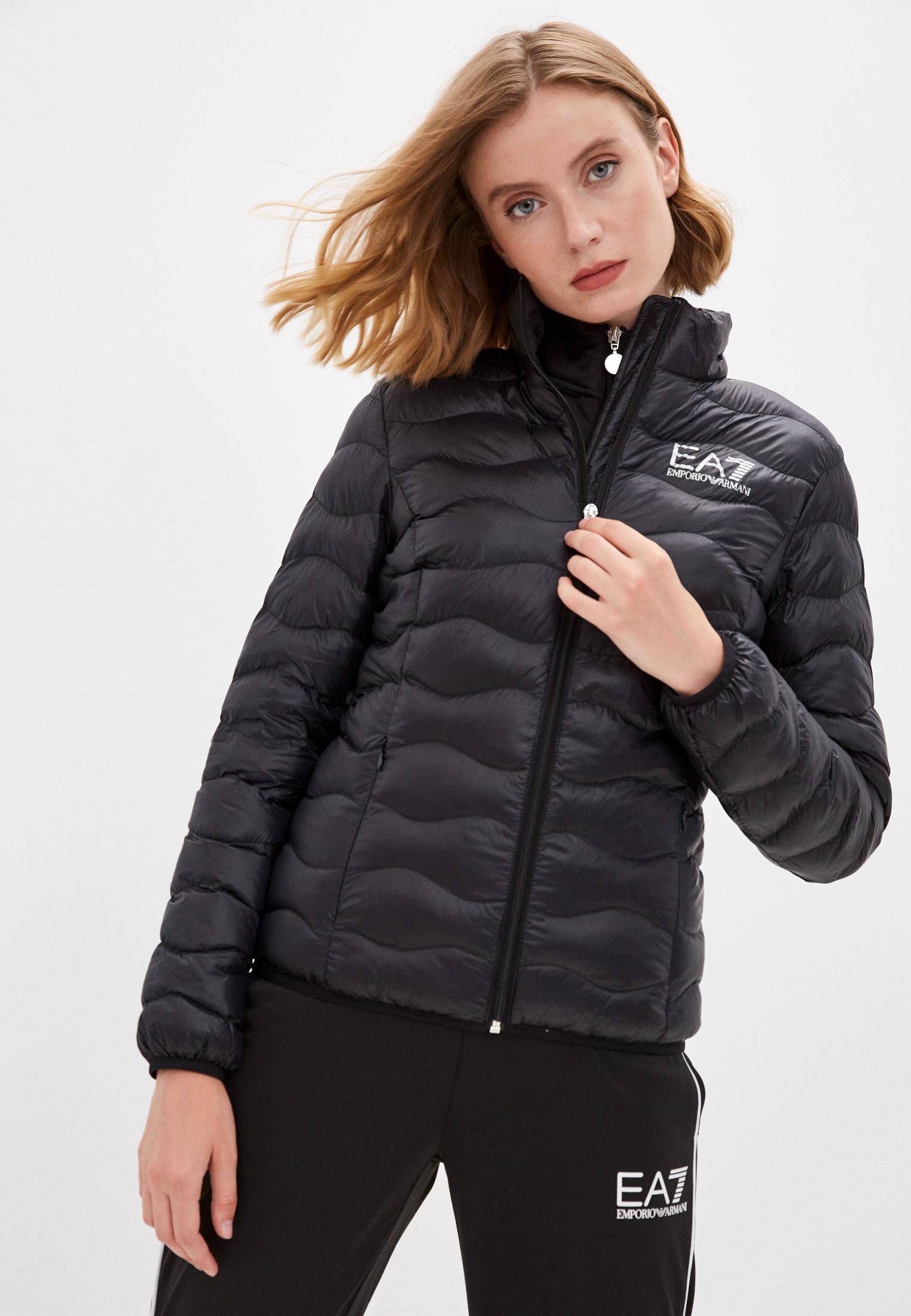 Утепленная куртка EA7 Пуховик EA7