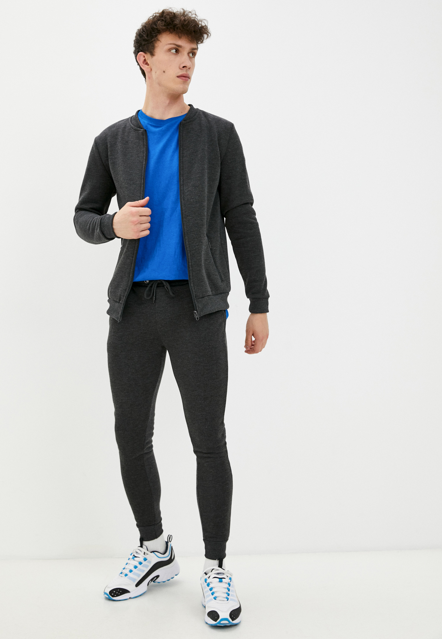 Спортивный костюм Brave Soul MJS-516GREYJOYB: изображение 1