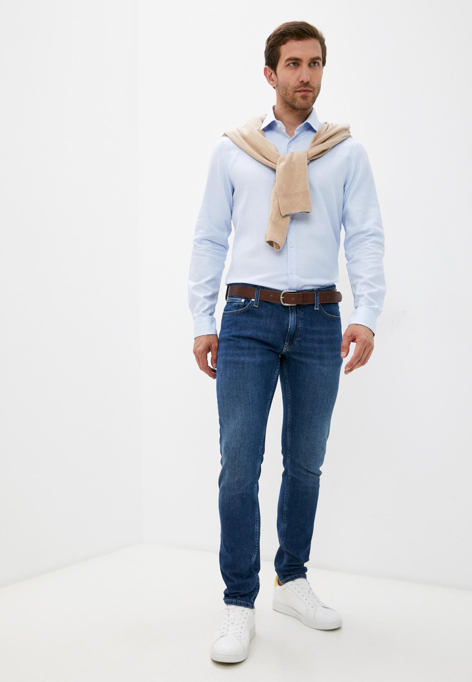 Зауженные джинсы Calvin Klein (Кельвин Кляйн) K10K107192: изображение 3