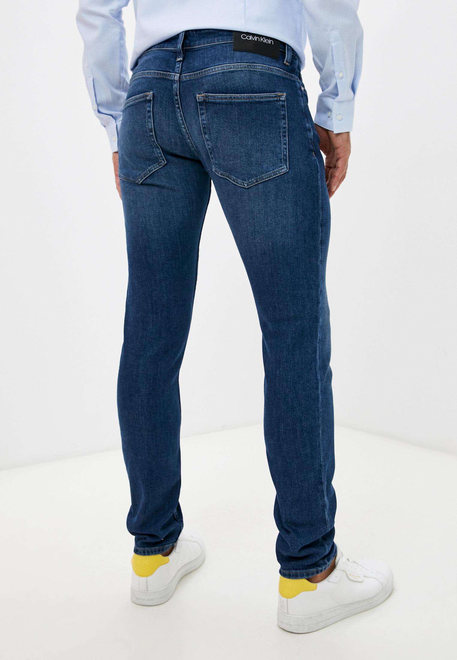 Зауженные джинсы Calvin Klein (Кельвин Кляйн) K10K107192: изображение 4