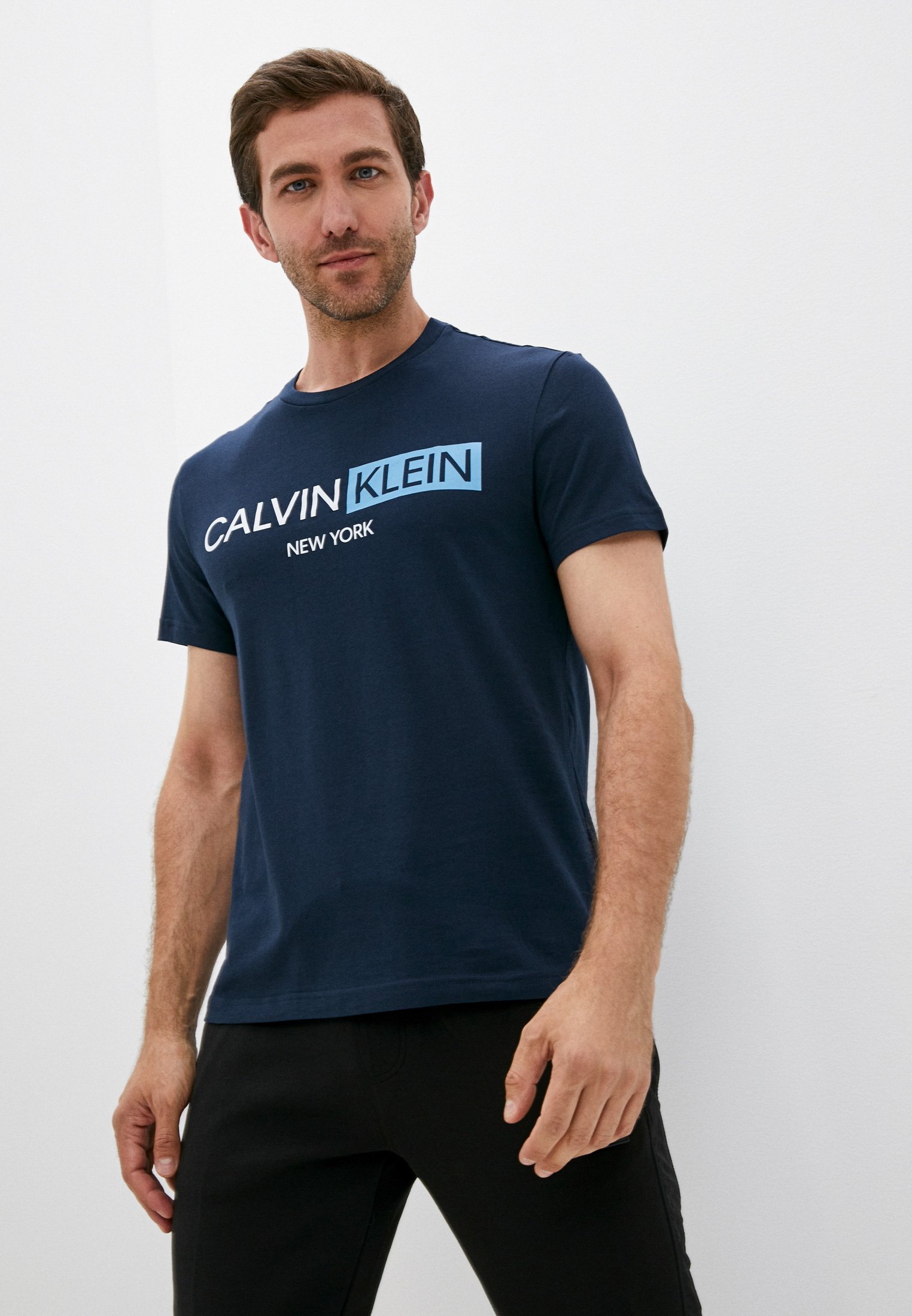 Мужская футболка Calvin Klein (Кельвин Кляйн) K10K107256