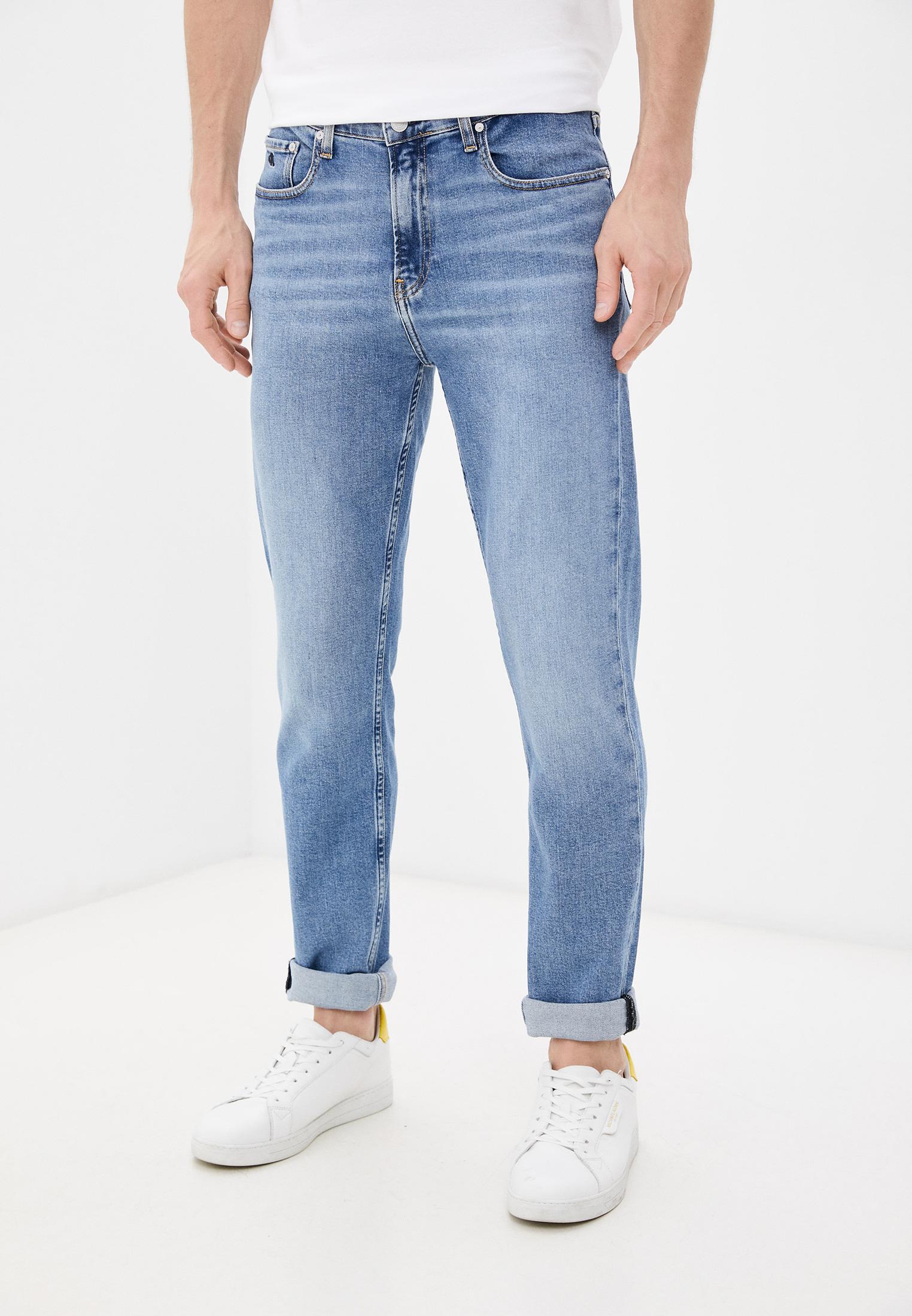 Зауженные джинсы Calvin Klein (Кельвин Кляйн) K10K107283: изображение 1