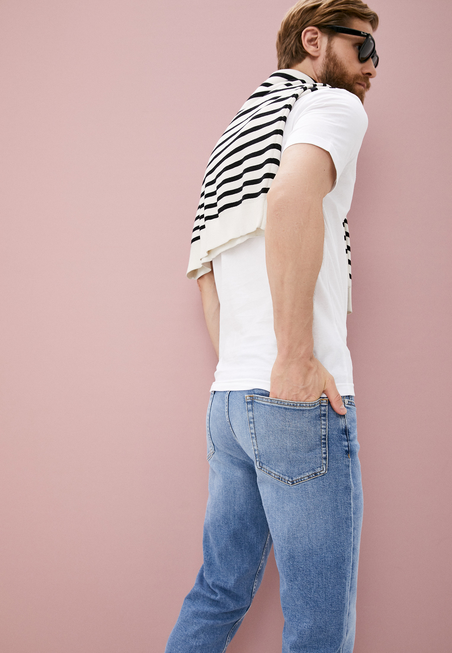 Зауженные джинсы Calvin Klein (Кельвин Кляйн) K10K107283: изображение 2