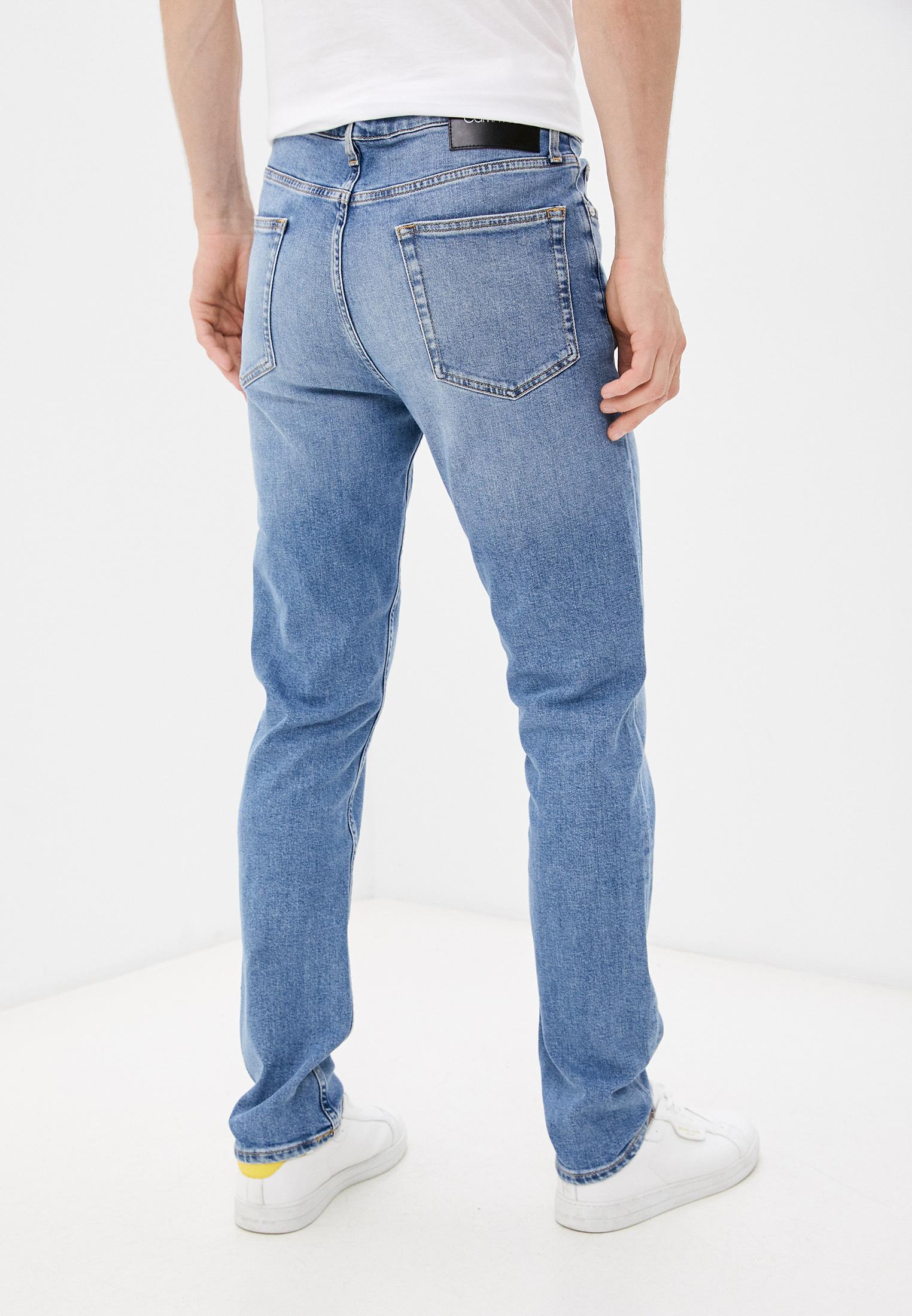 Зауженные джинсы Calvin Klein (Кельвин Кляйн) K10K107283: изображение 4