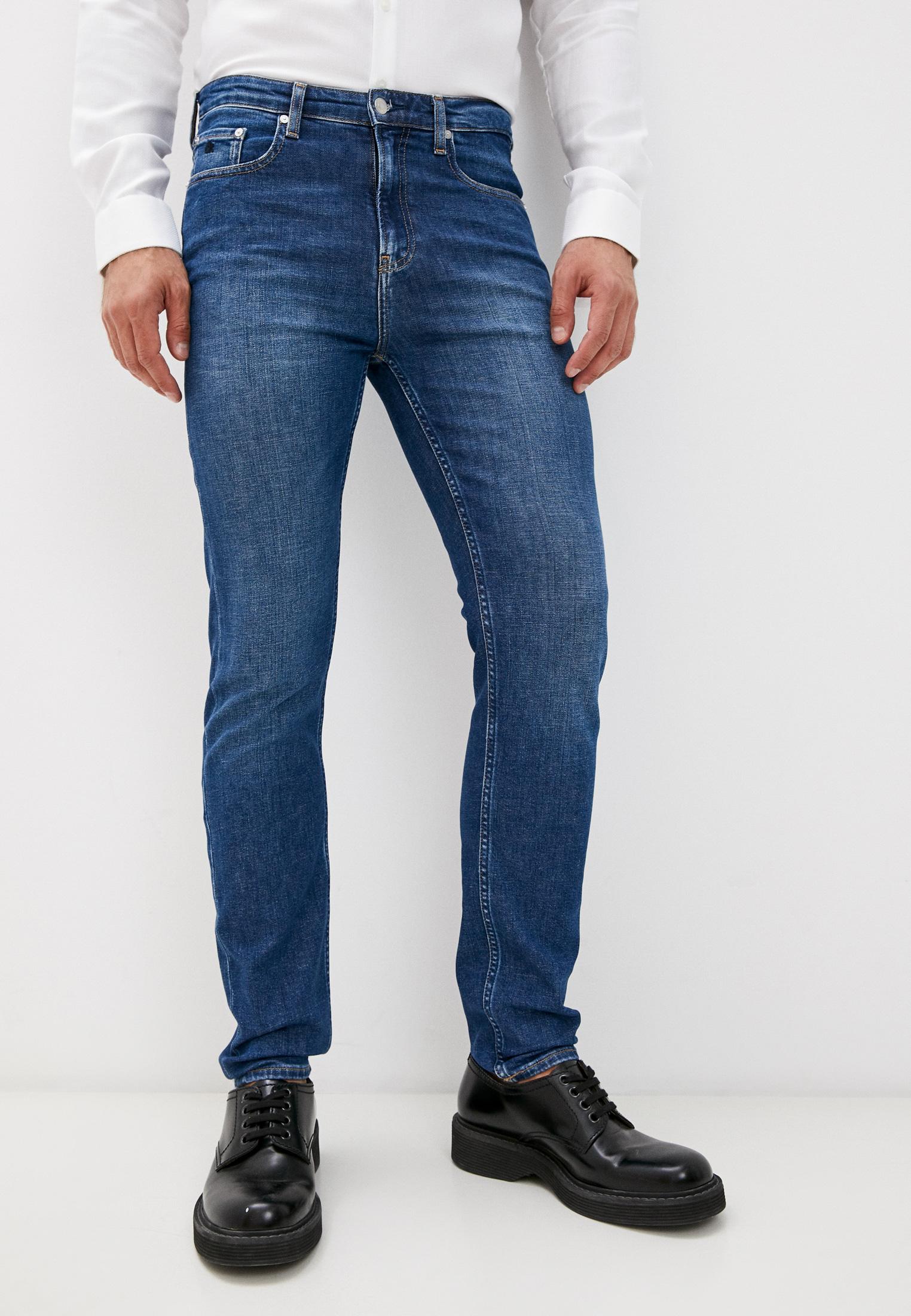 Зауженные джинсы Calvin Klein (Кельвин Кляйн) Джинсы Calvin Klein