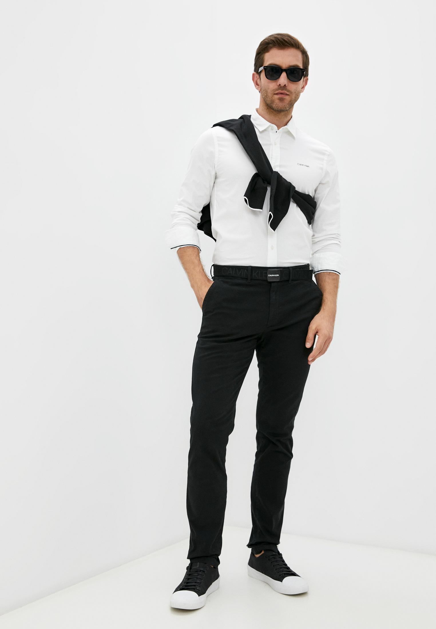 Рубашка с длинным рукавом Calvin Klein (Кельвин Кляйн) K10K107783: изображение 3