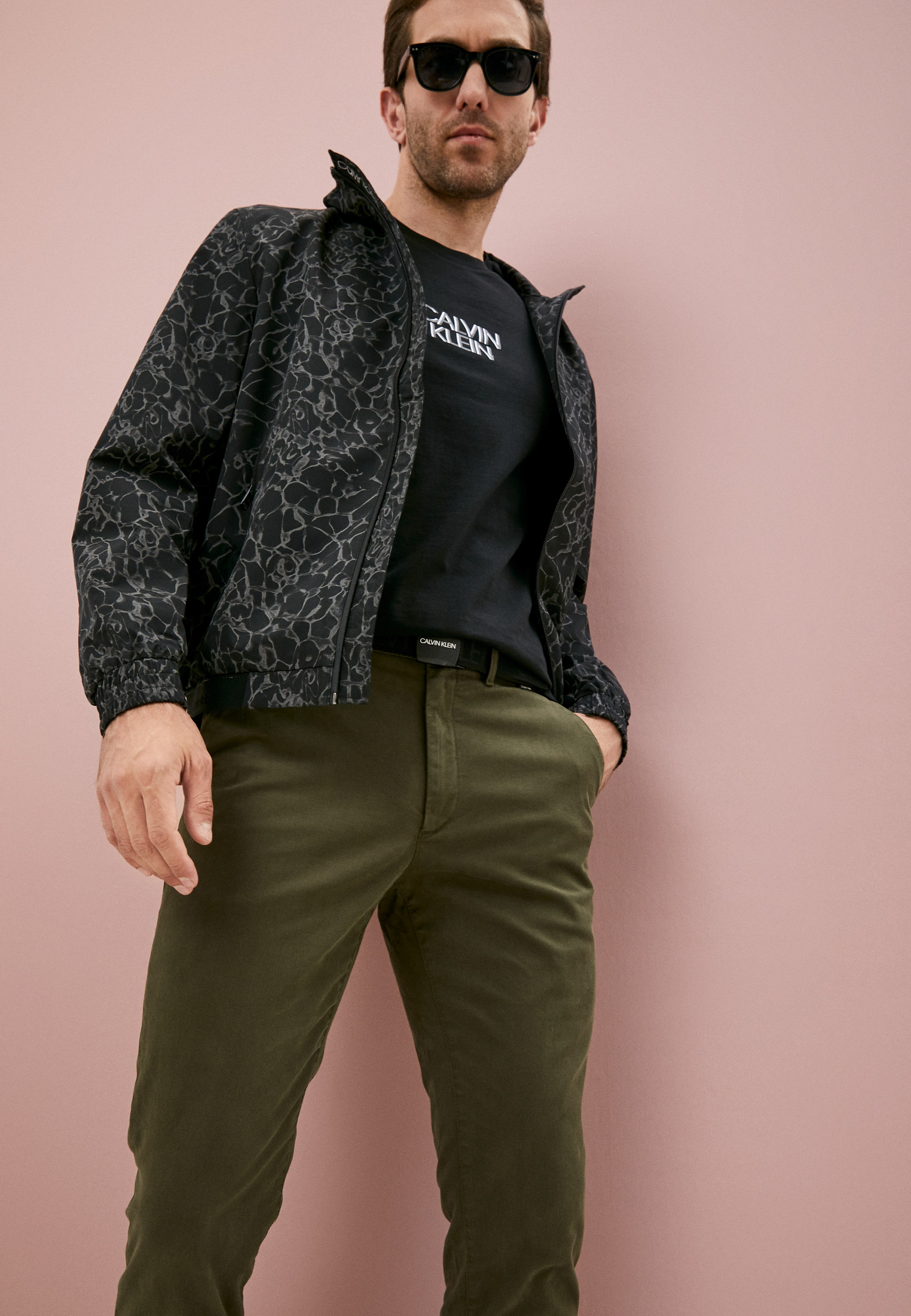 Мужские повседневные брюки Calvin Klein (Кельвин Кляйн) K10K107785: изображение 2