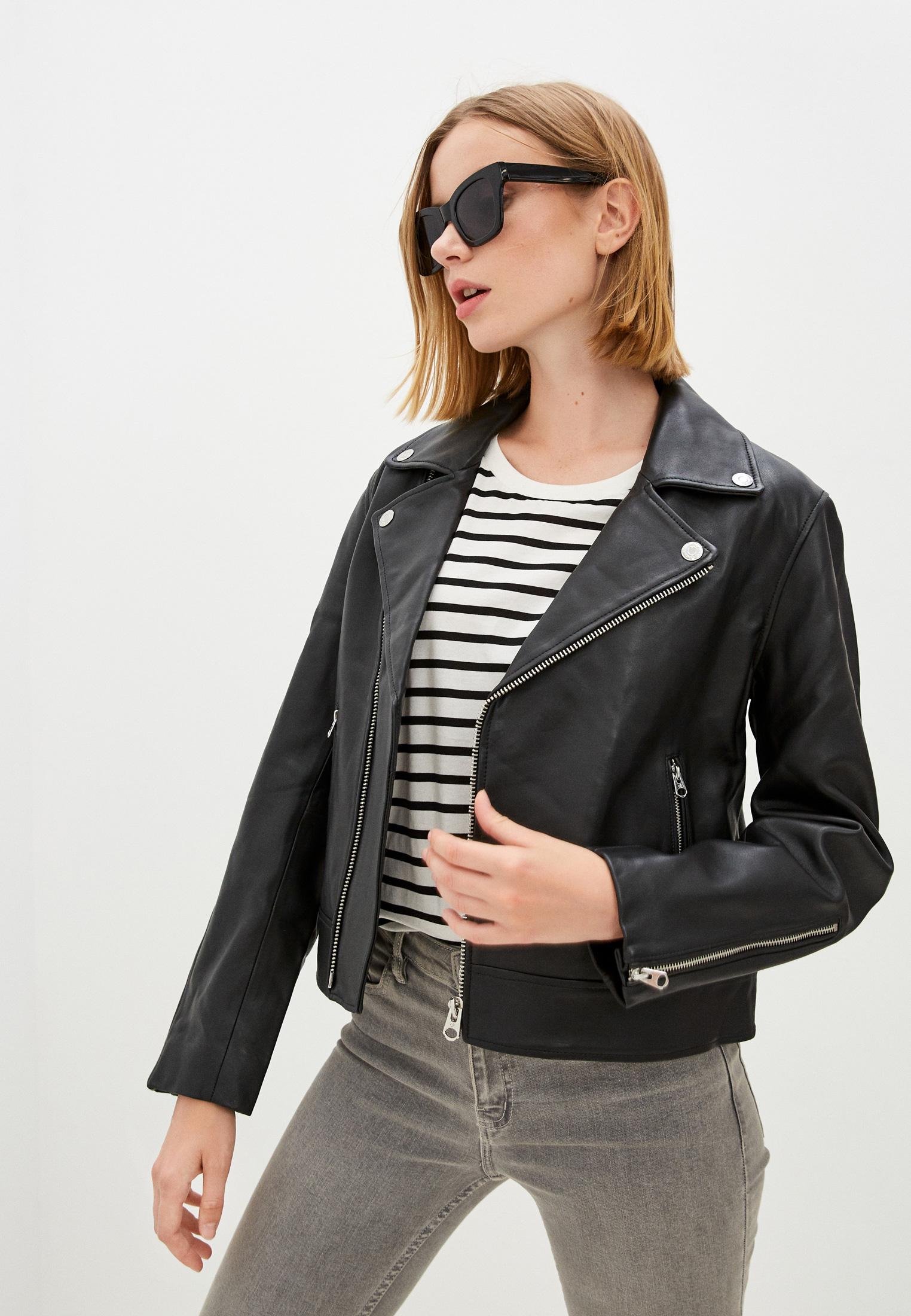Кожаная куртка Calvin Klein (Кельвин Кляйн) Куртка кожаная Calvin Klein