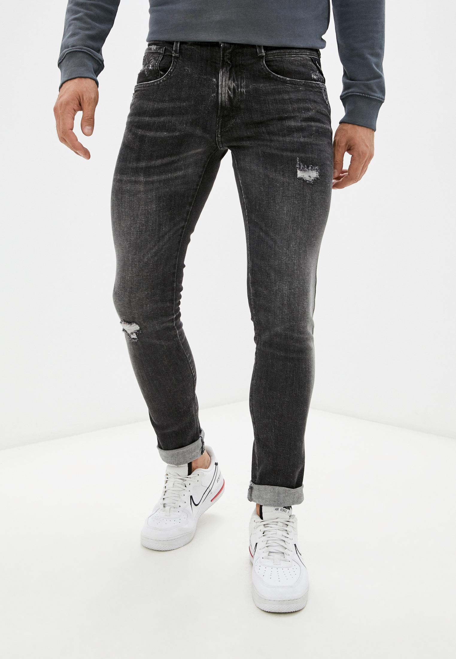 Зауженные джинсы Replay (Реплей) Джинсы Replay