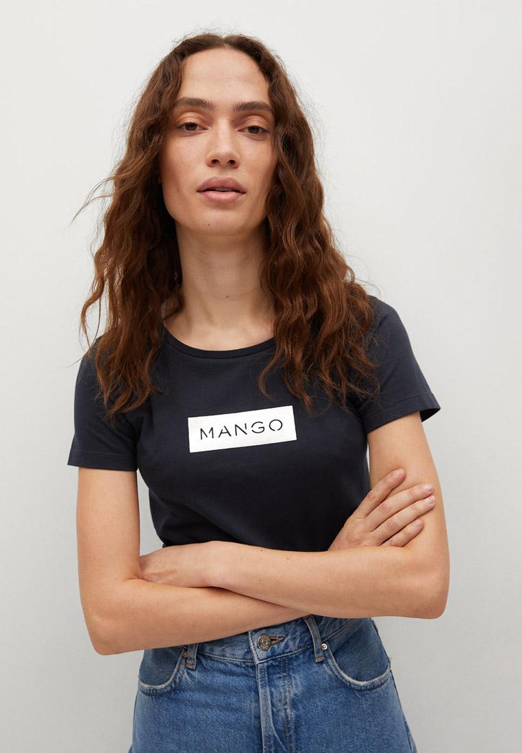 Футболка с коротким рукавом Mango (Манго) 17050157