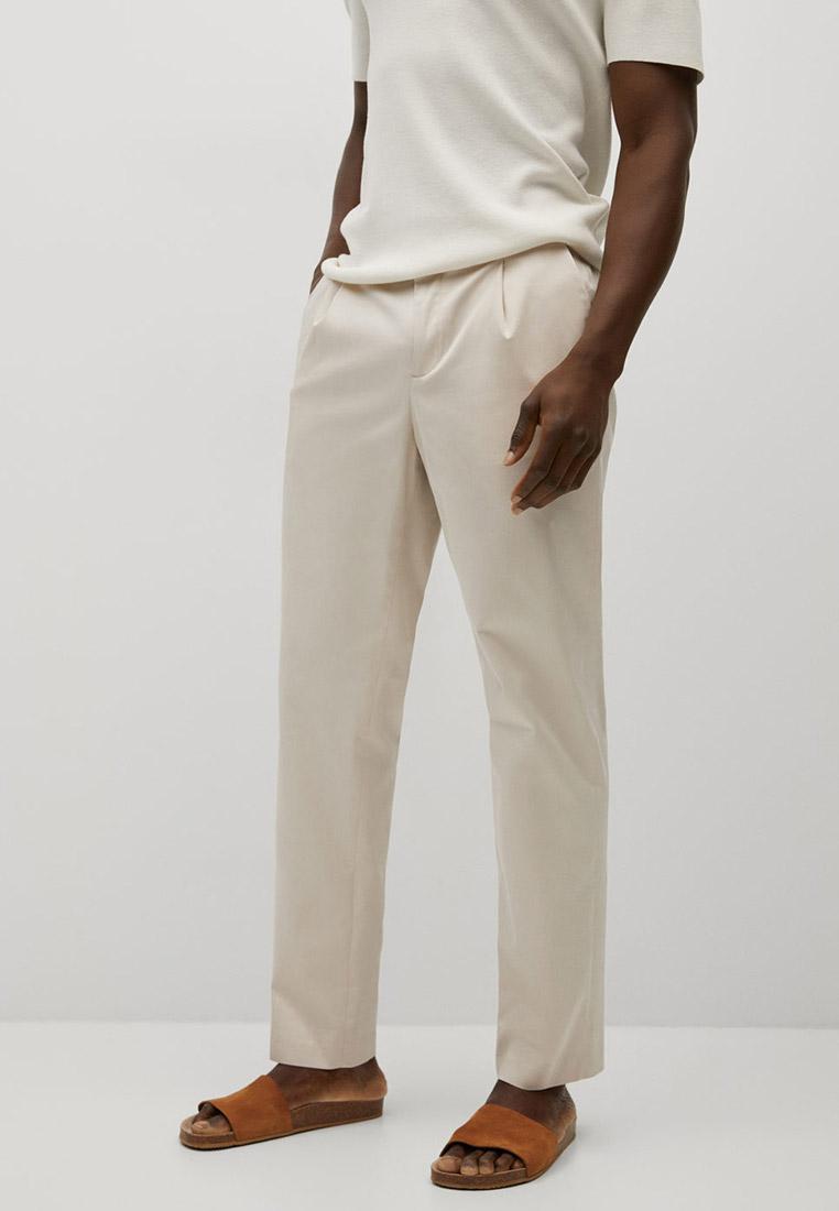Мужские зауженные брюки Mango Man Брюки Mango Man