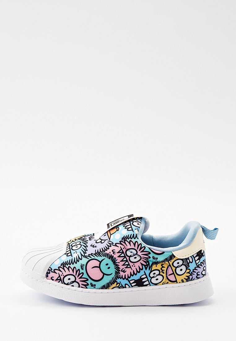 Мокасины для мальчиков Adidas Originals (Адидас Ориджиналс) Слипоны adidas Originals