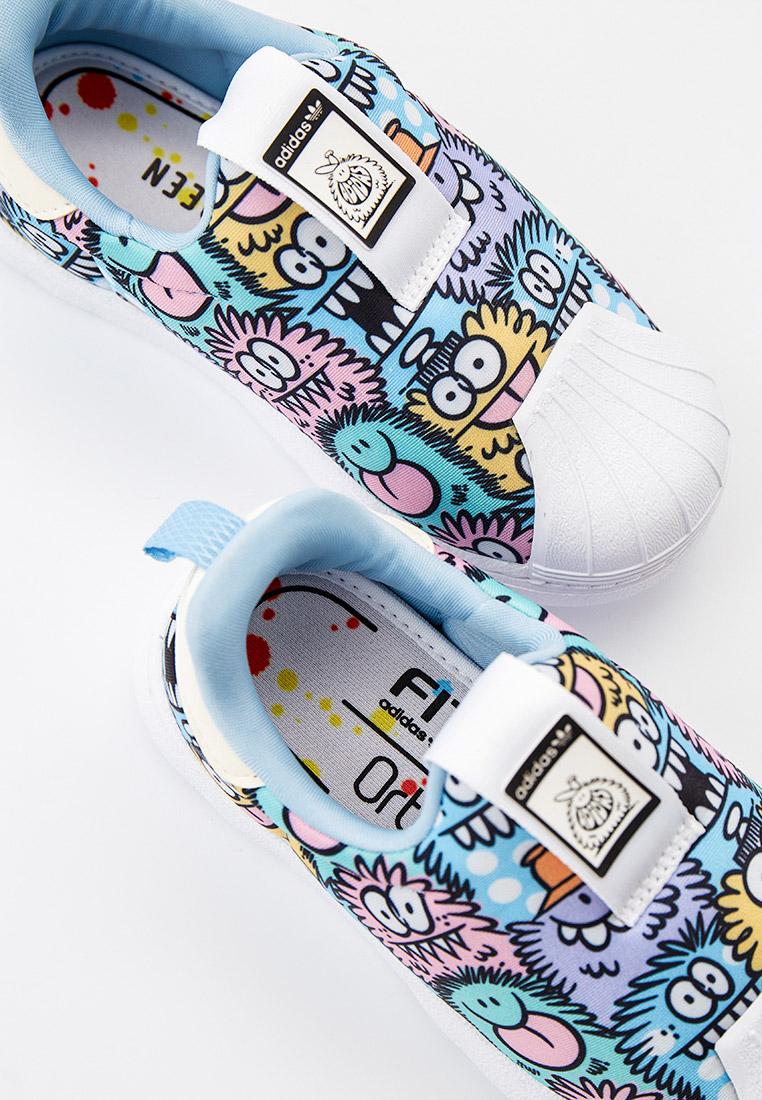 Мокасины для мальчиков Adidas Originals (Адидас Ориджиналс) H02738: изображение 4
