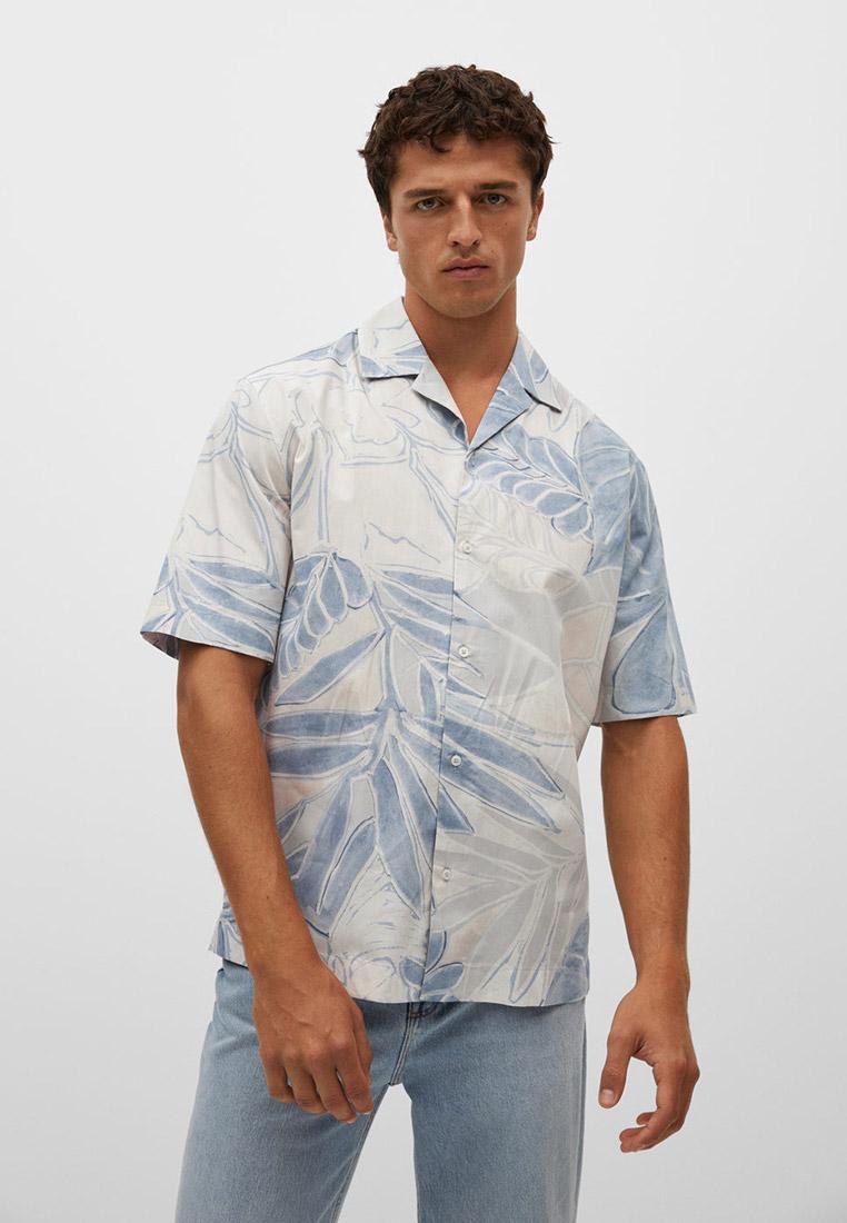 Рубашка с длинным рукавом Mango Man Рубашка Mango Man