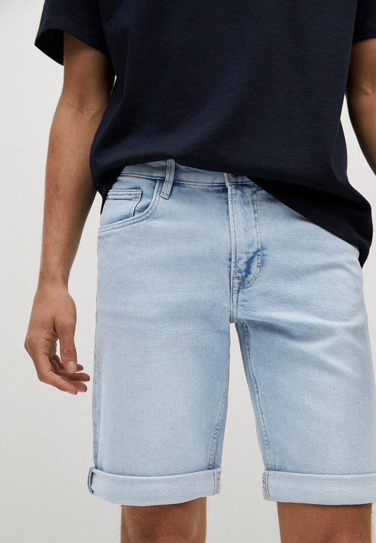 Мужские джинсовые шорты Mango Man Шорты джинсовые Mango Man